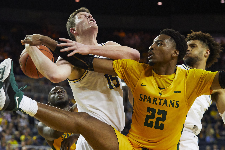 NCAA Basketball: Norfolk State at Michigan
