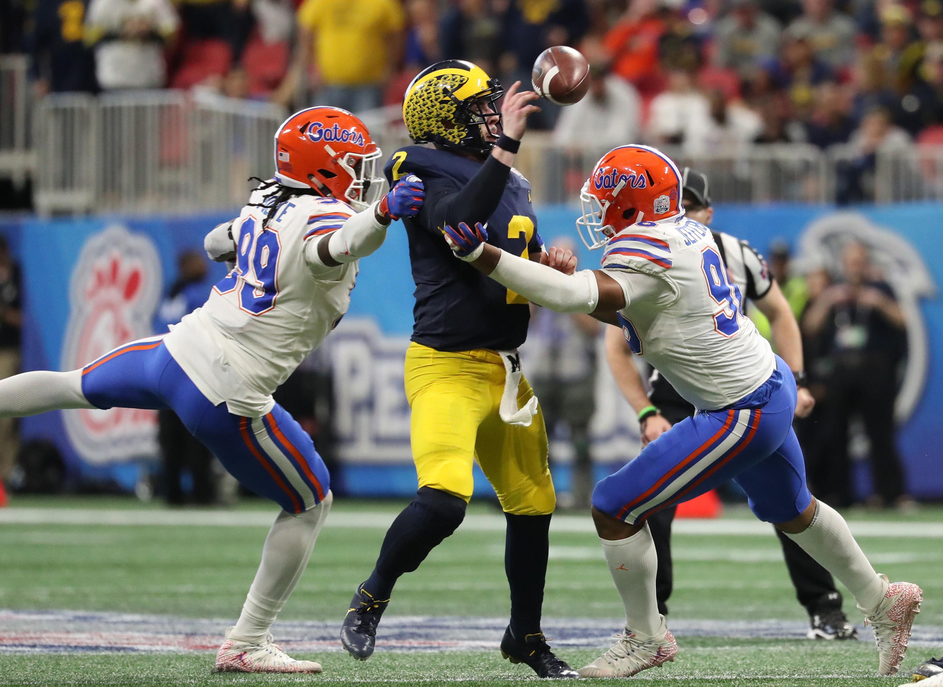 NCAA Football: Peach Bowl-Florida vs Michigan