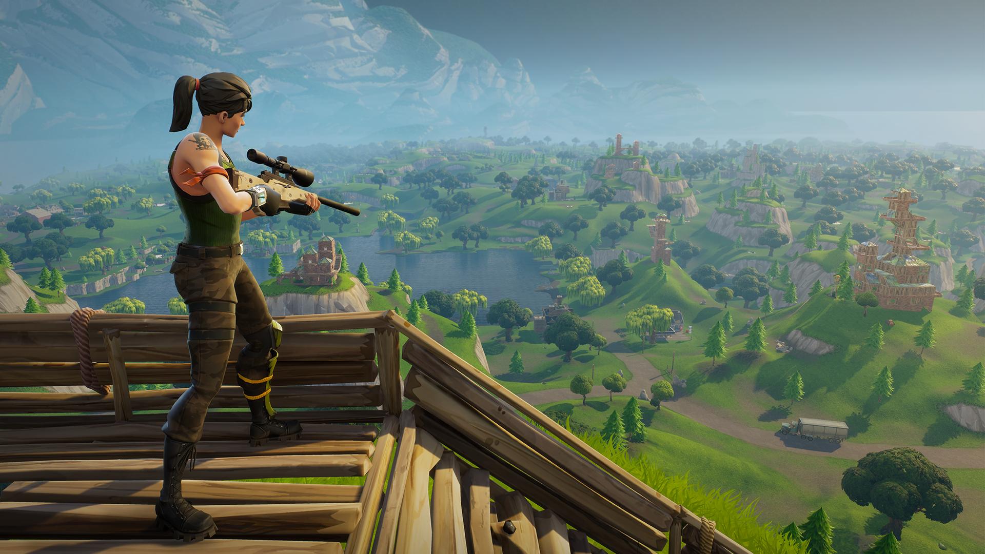 Fortnite's latest patch sends the bolt-action sniper to the vault