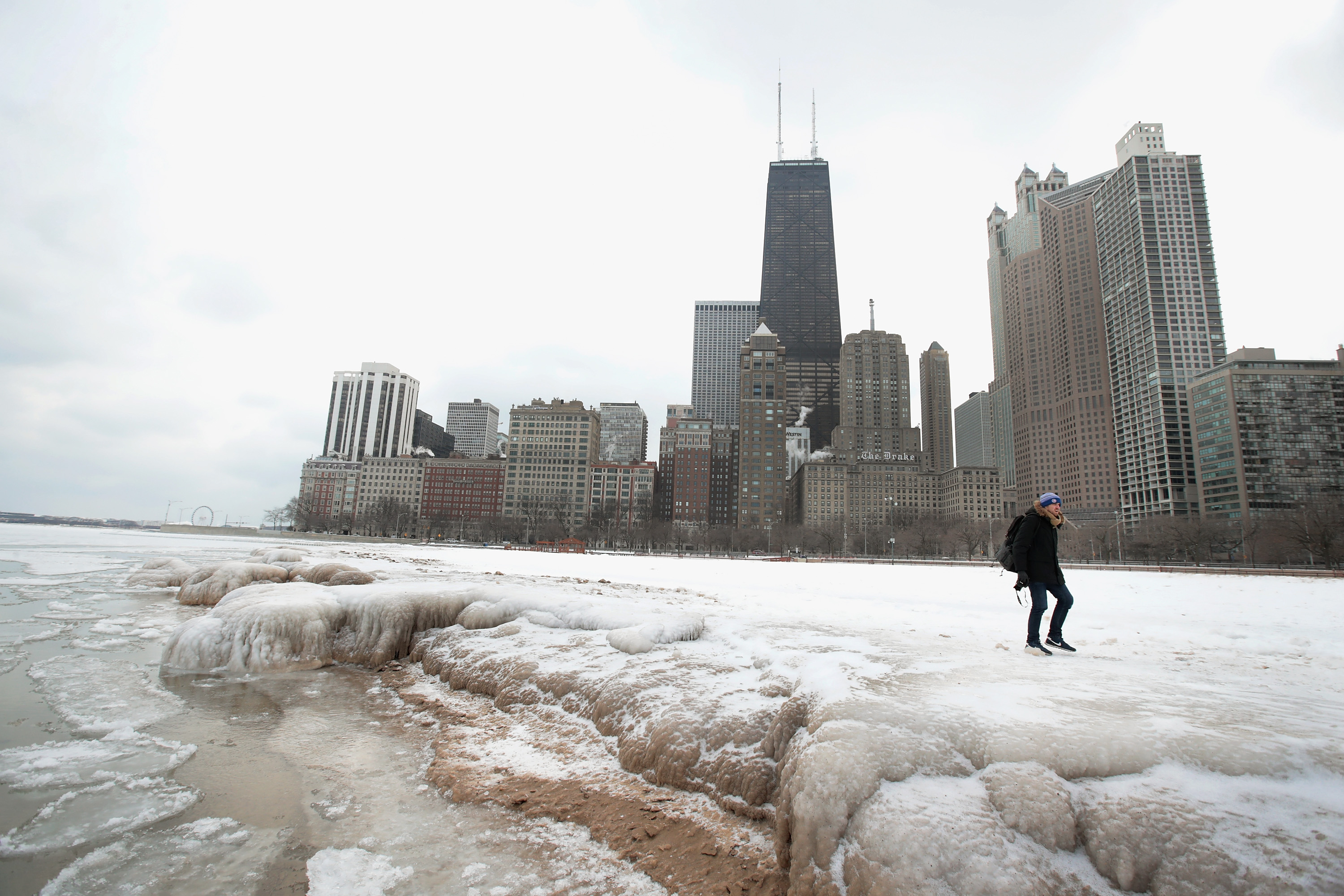 Chicago's Deep Freeze Continues With Single Digit Temperatures