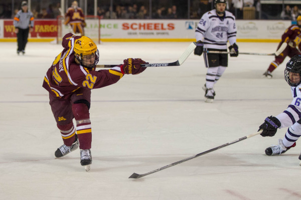 BIG10: Gopher Hockey's Tyler Sheehy Named Big Ten #1 Star Of The Week