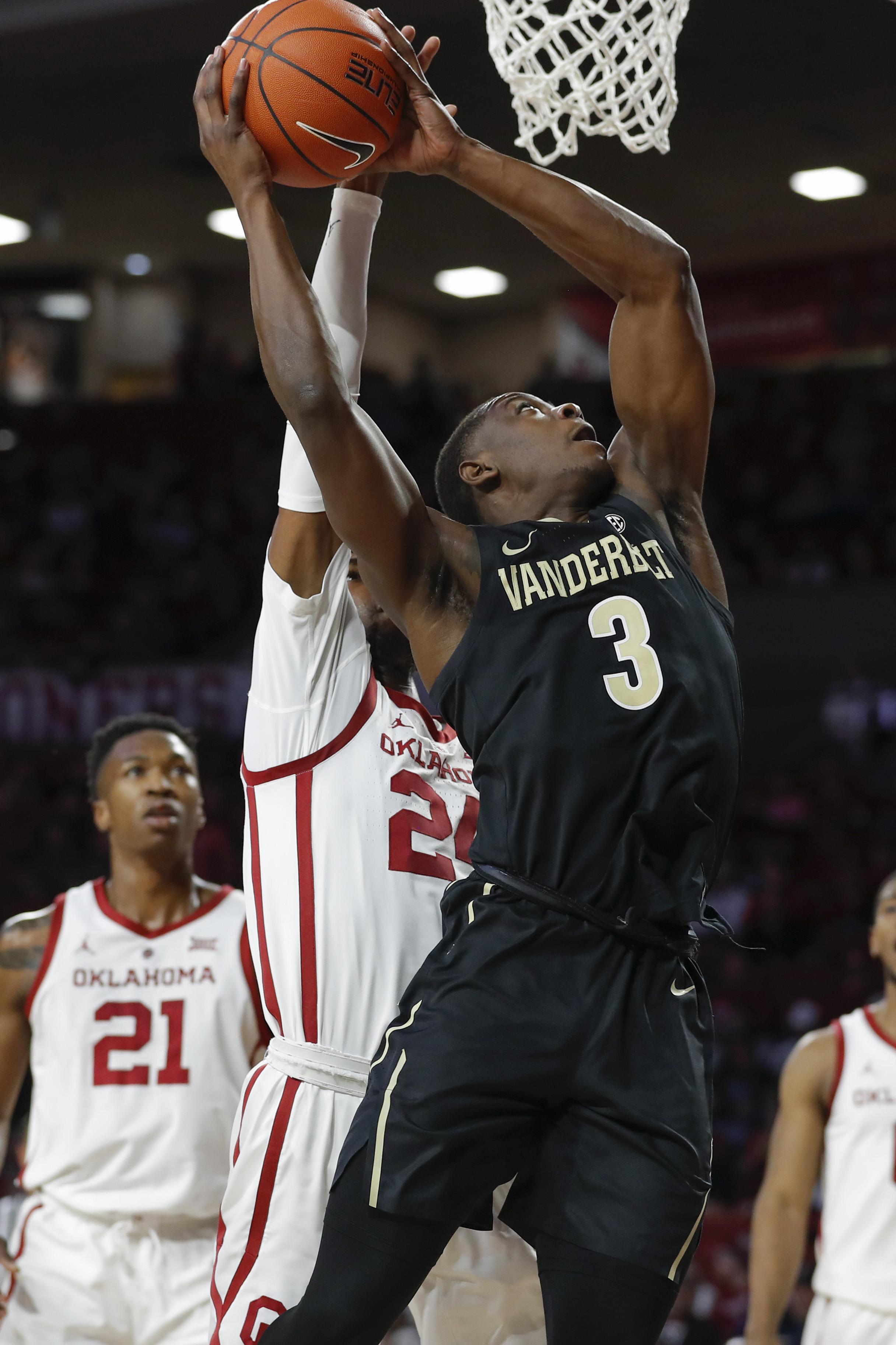 NCAA Basketball: Vanderbilt at Oklahoma