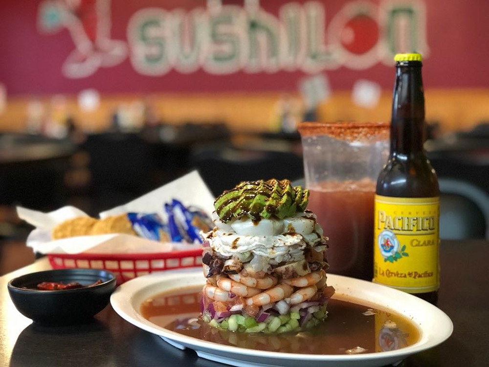 'Fusion Sushi Sinaloense-Mexican Food' Arrives Downtown