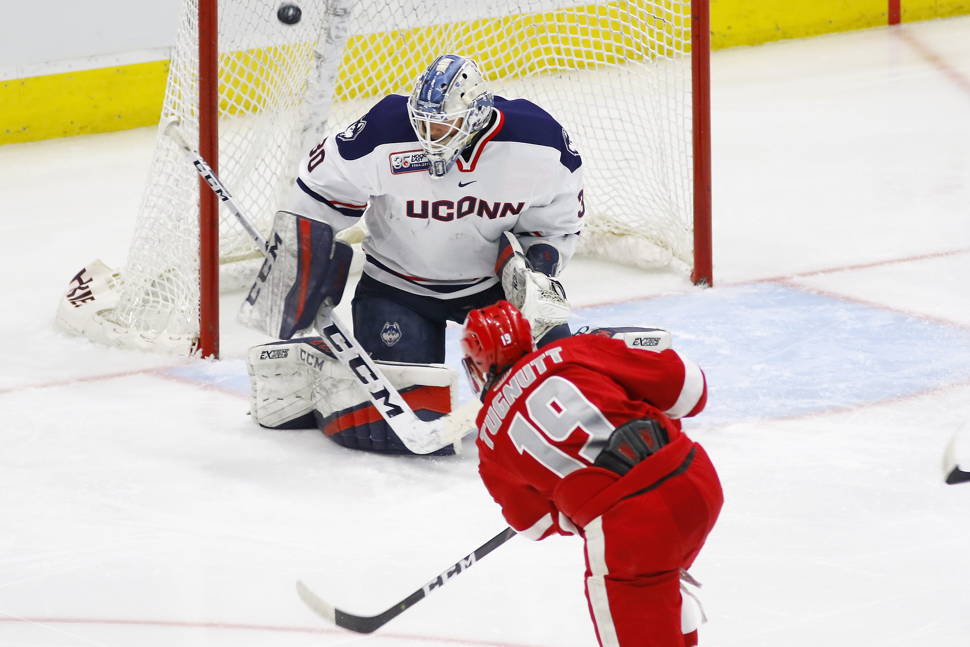 UConn Men's Hockey Can't Complete Comeback, Falls To Sacred Heart, 2-1