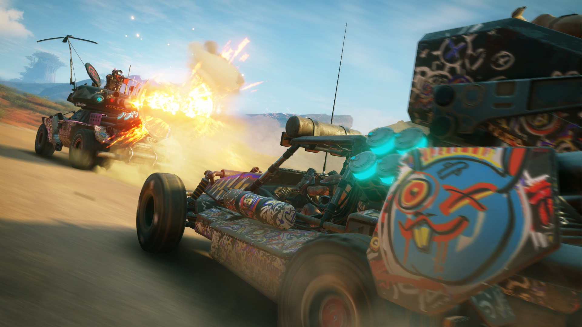 Rage 2 is the mutant spawn of two very different shooters