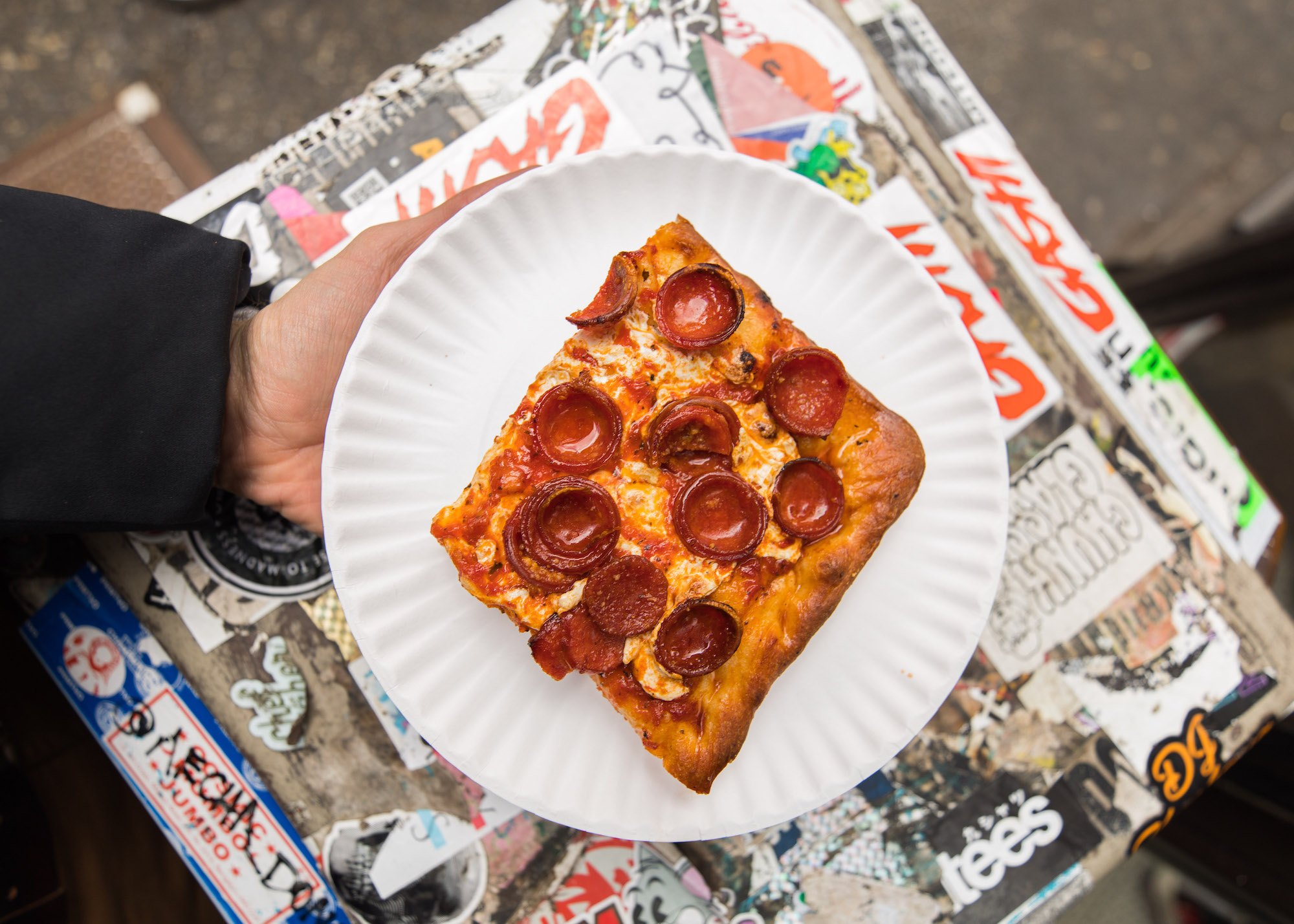 NYC's Most Famous Pepperoni Pizza Comes to LA for a Weekend Pop-Up