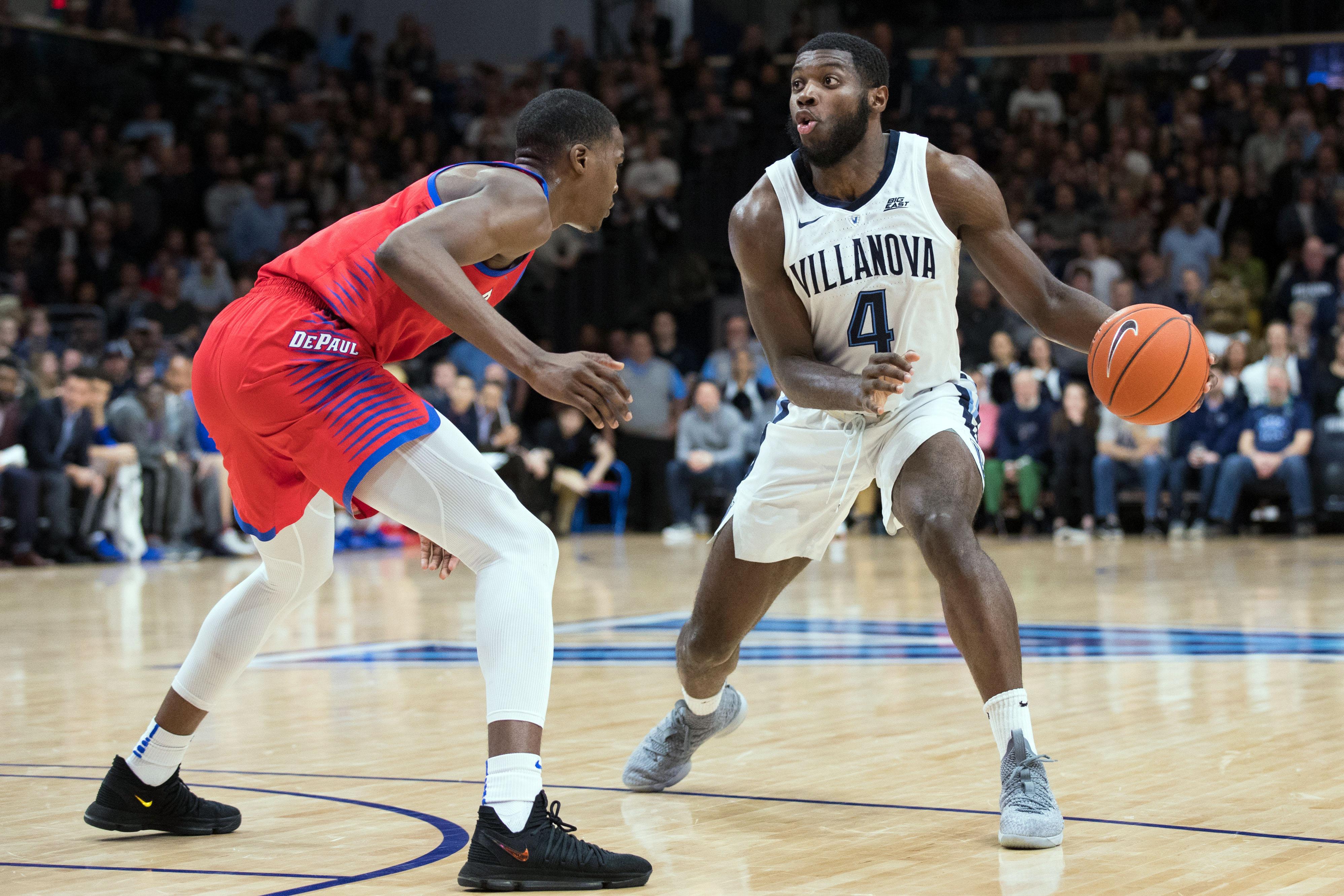 NCAA Basketball: DePaul at Villanova