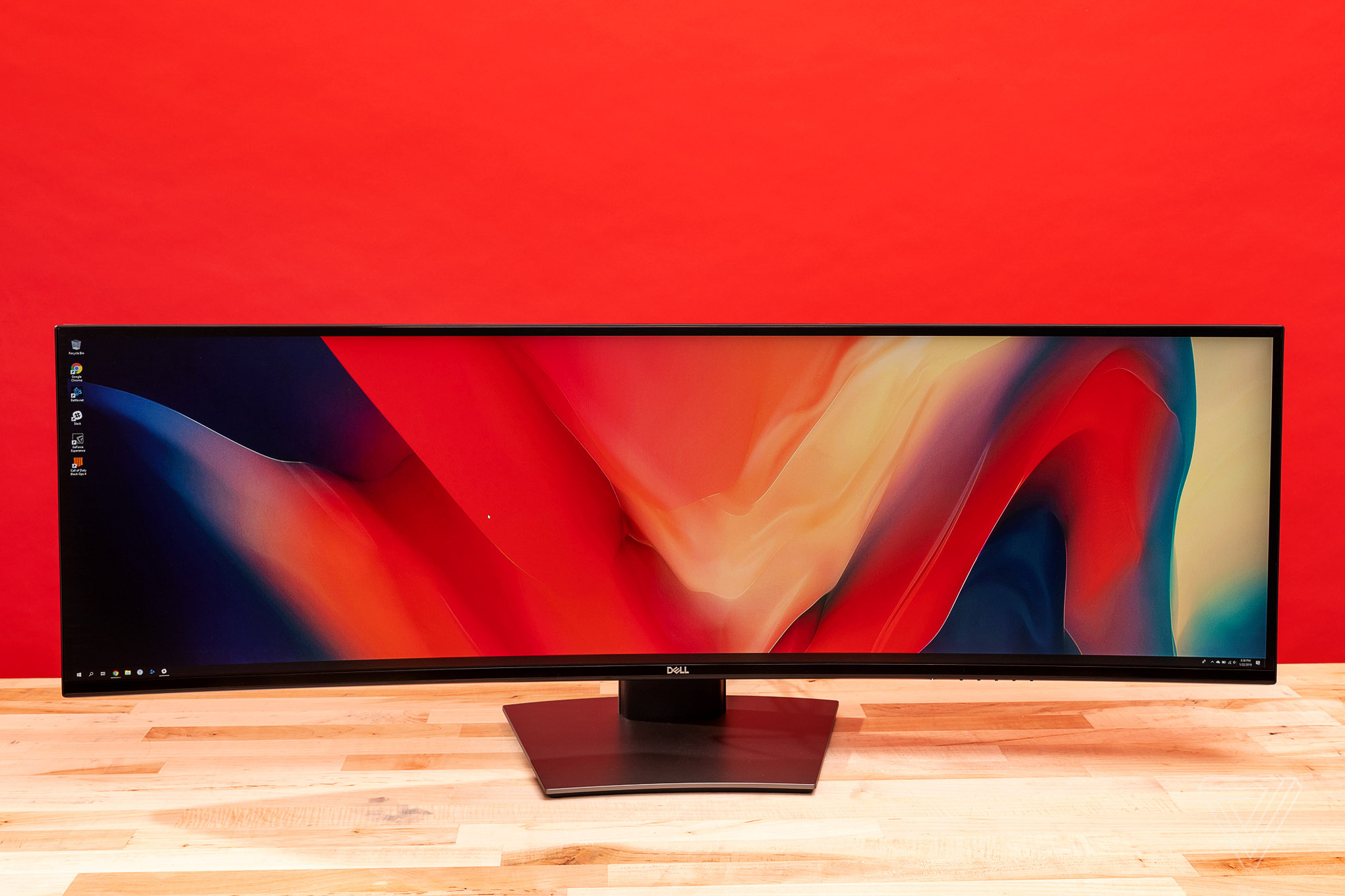 A 49-inch ultrawide monitor is extravagant, ridiculous, and