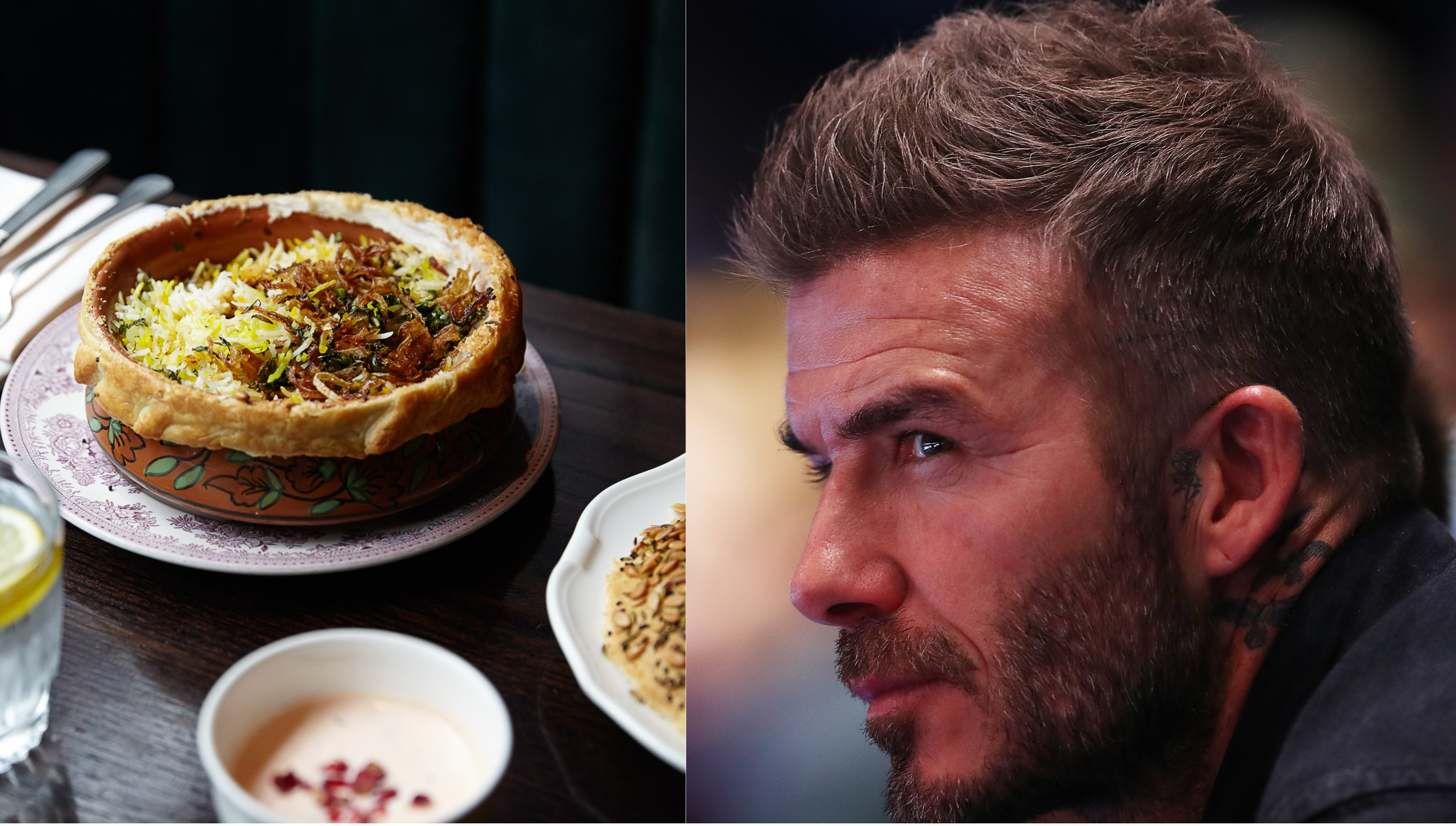 David Beckham loves Michelin-starred Indian restaurant Gymkhana, but swerved it for Trishna this week