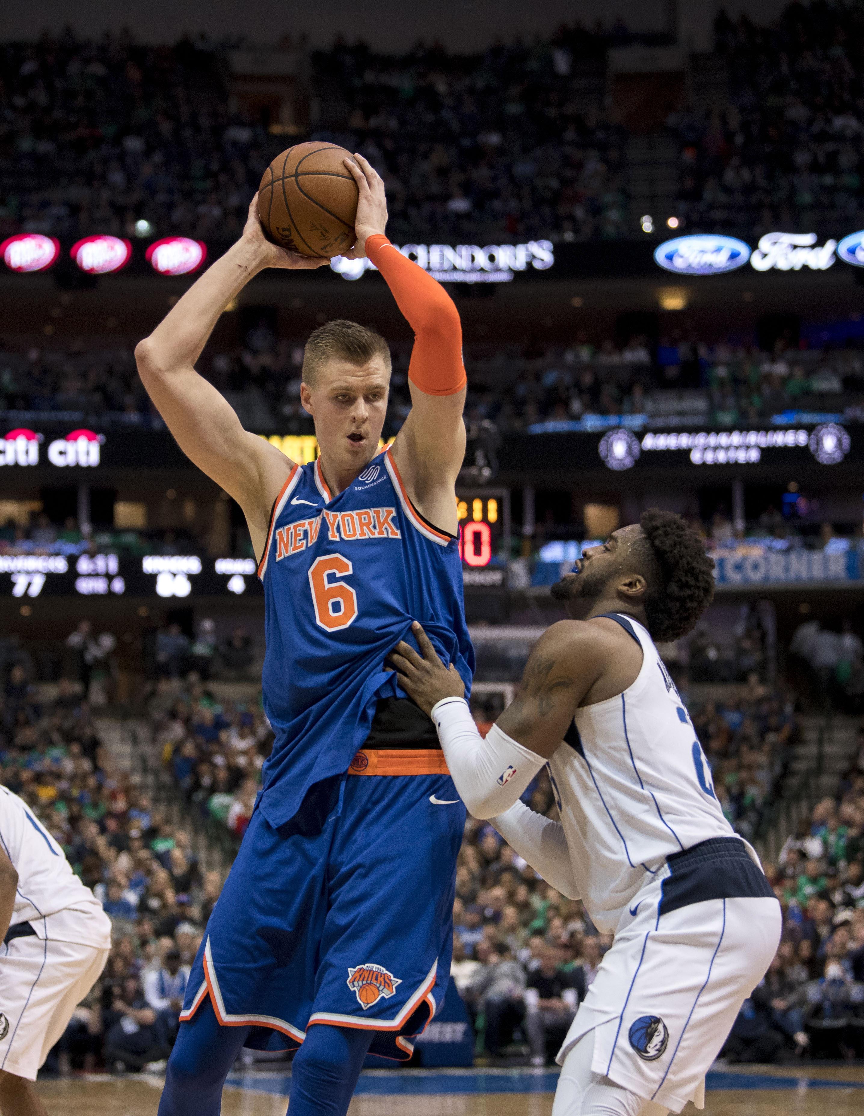 790b073b7 Mavericks trade for Knicks  Kristaps Porzingis - Mavs Moneyball