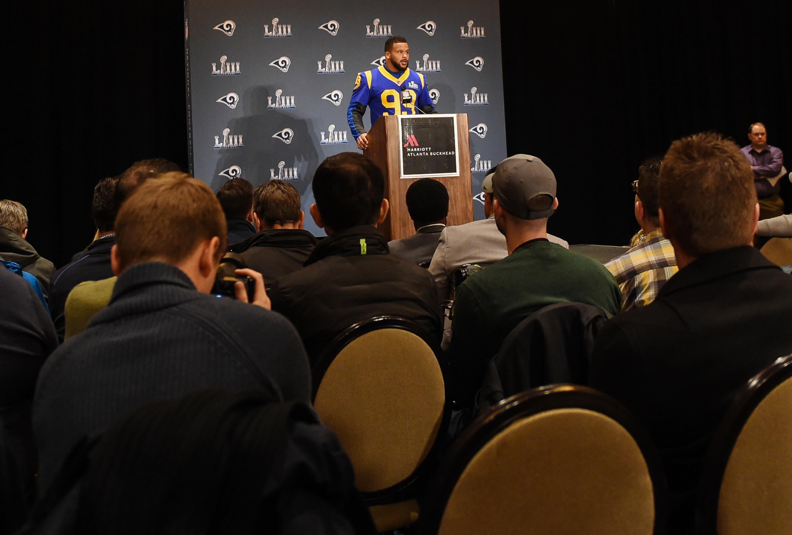 NFL: Super Bowl LIII-Los Angeles Rams Press Conference