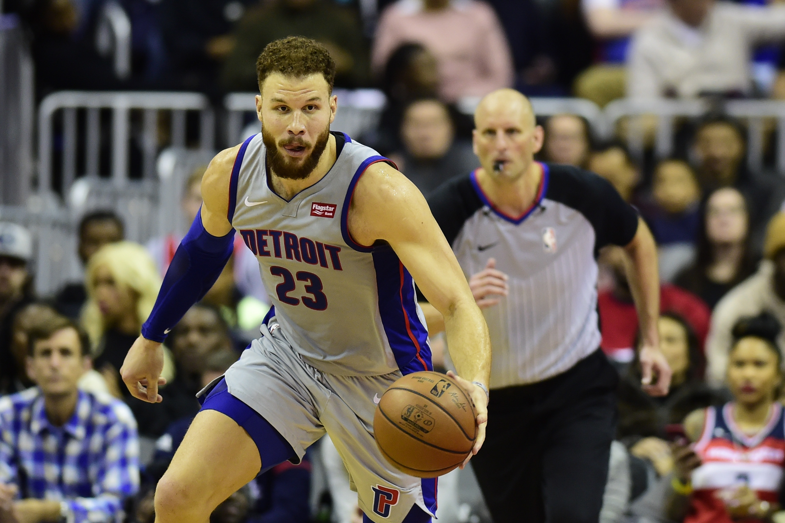 new concept 363cf dd3ac NBA All-Star game: Blake Griffin of Detroit Pistons named to ...