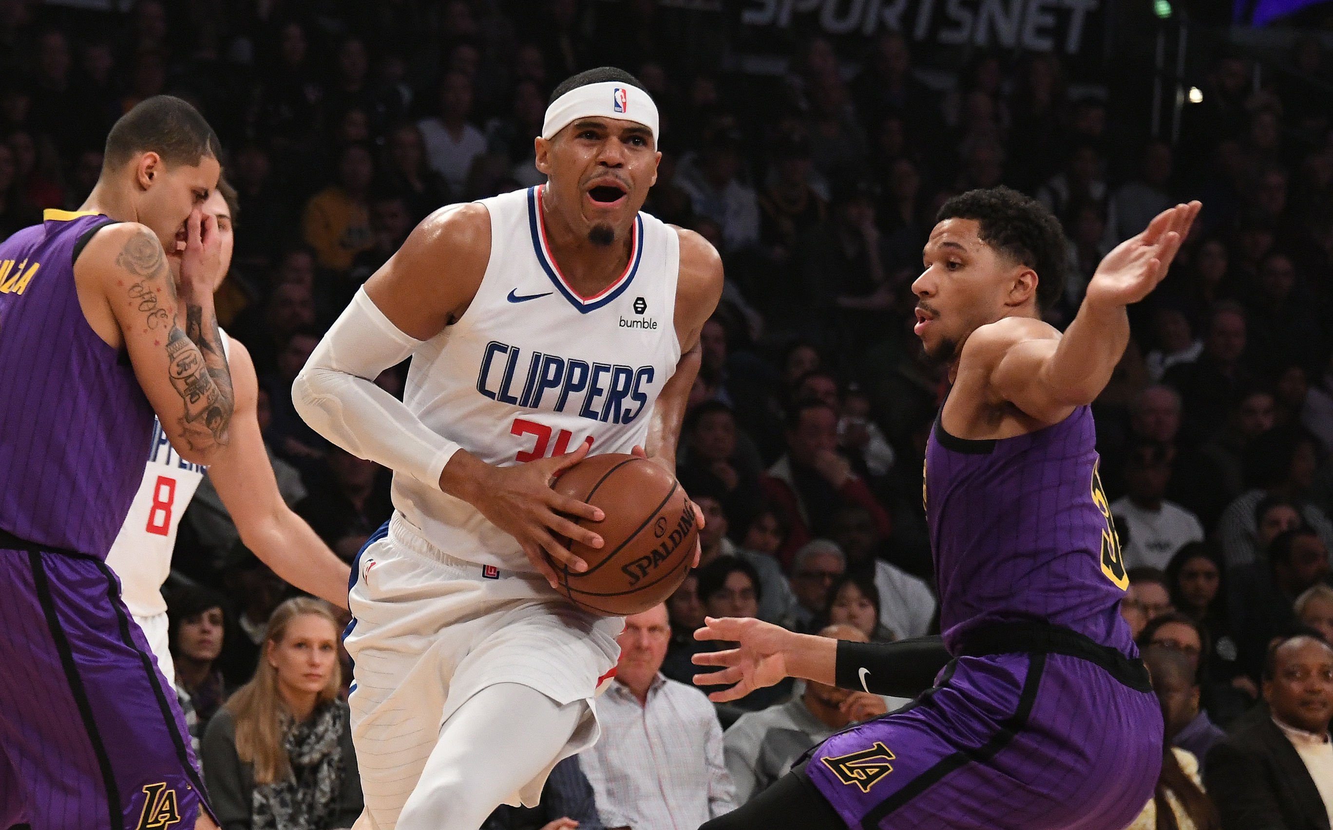 NBA: Los Angeles Clippers at Los Angeles Lakers