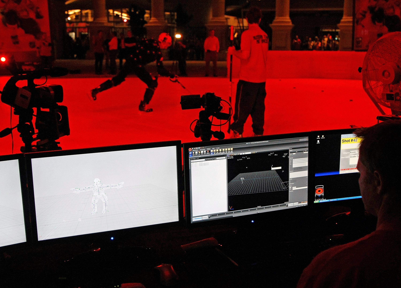 2K Sports Outdoor Motion Capture / Media Availability