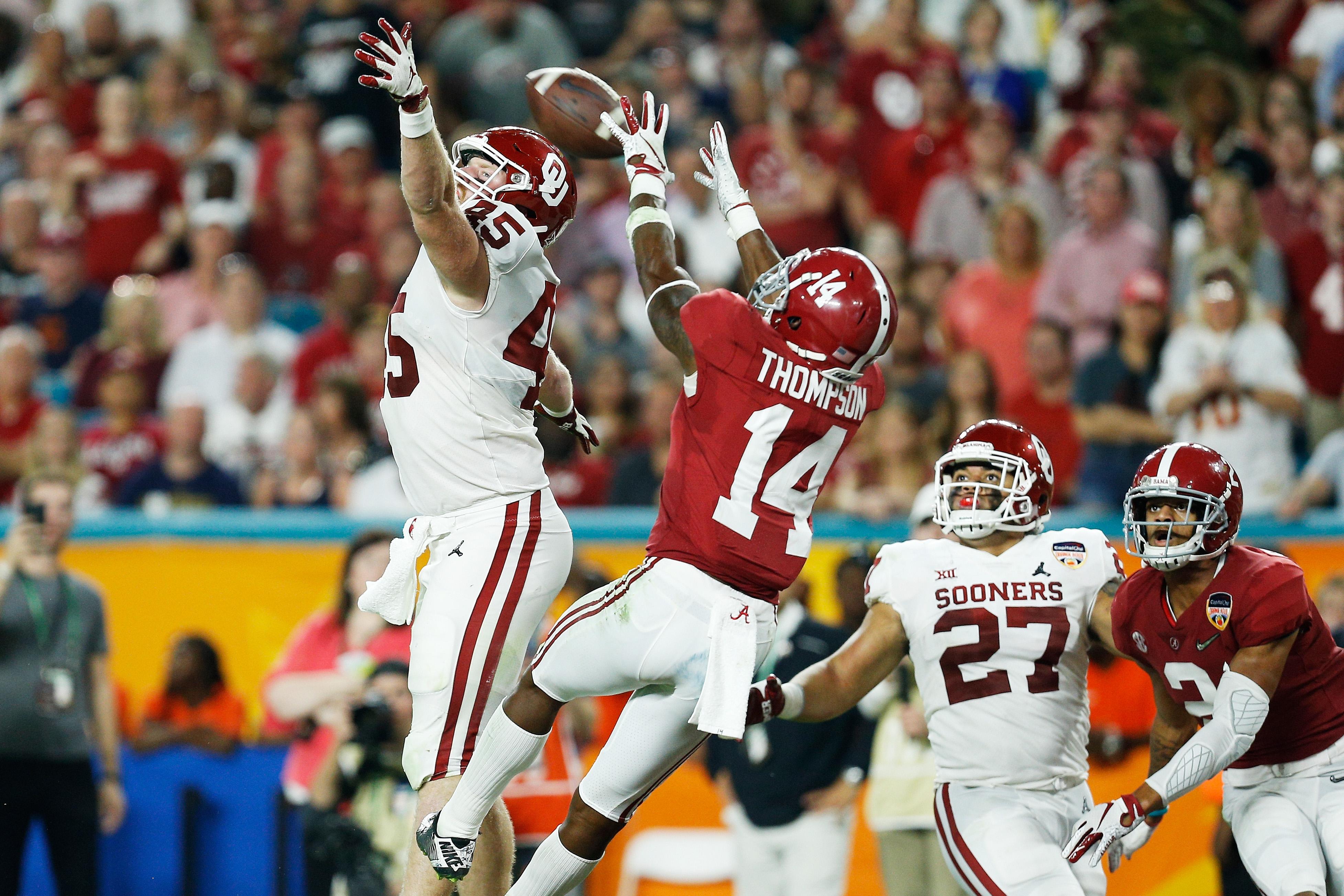 College Football Playoff Semifinal at the Capital One Orange Bowl - Alabama v Oklahoma
