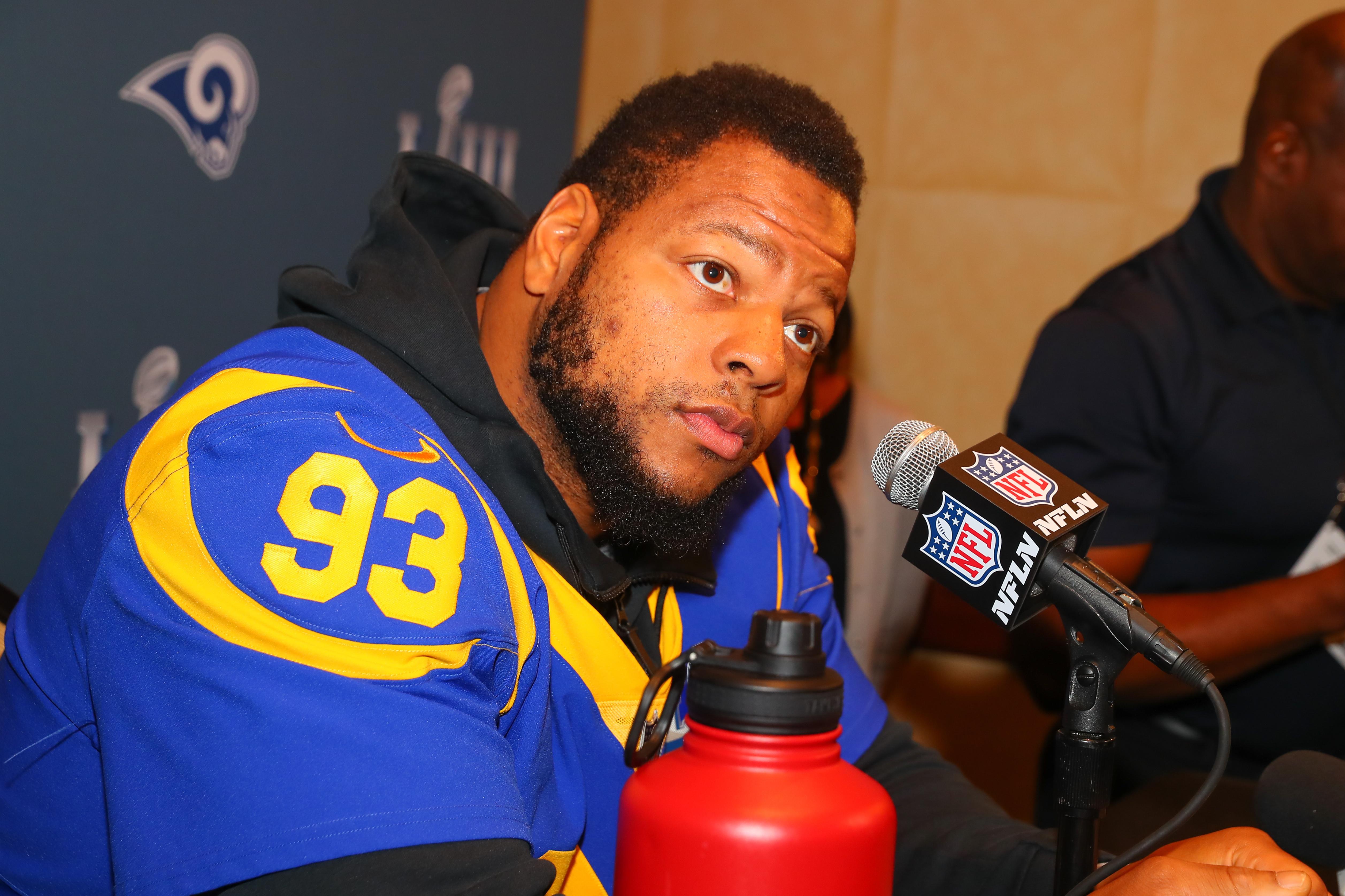 NFL: JAN 31 Super Bowl LIII - Rams Press Conference