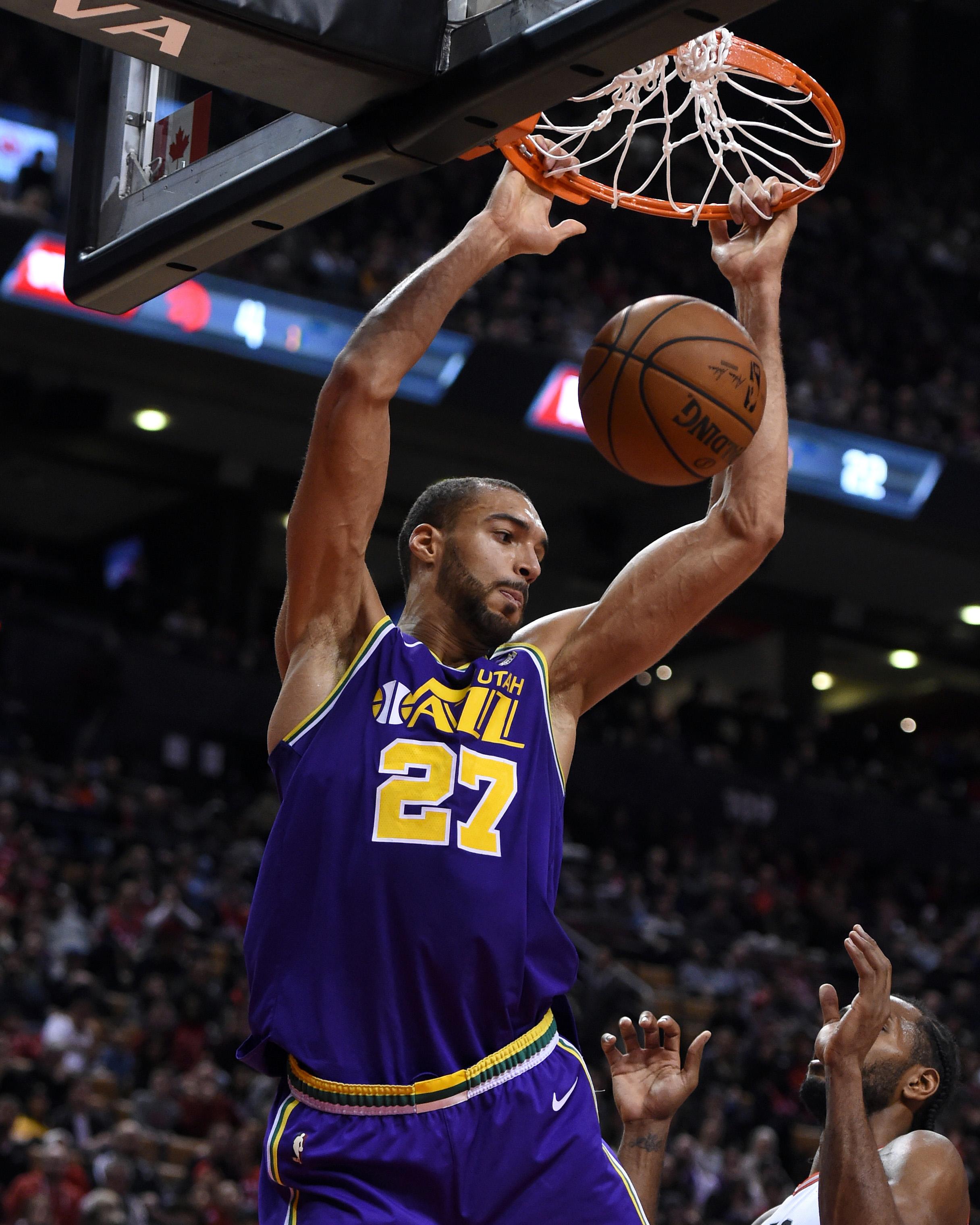 NBA: Utah Jazz at Toronto Raptors