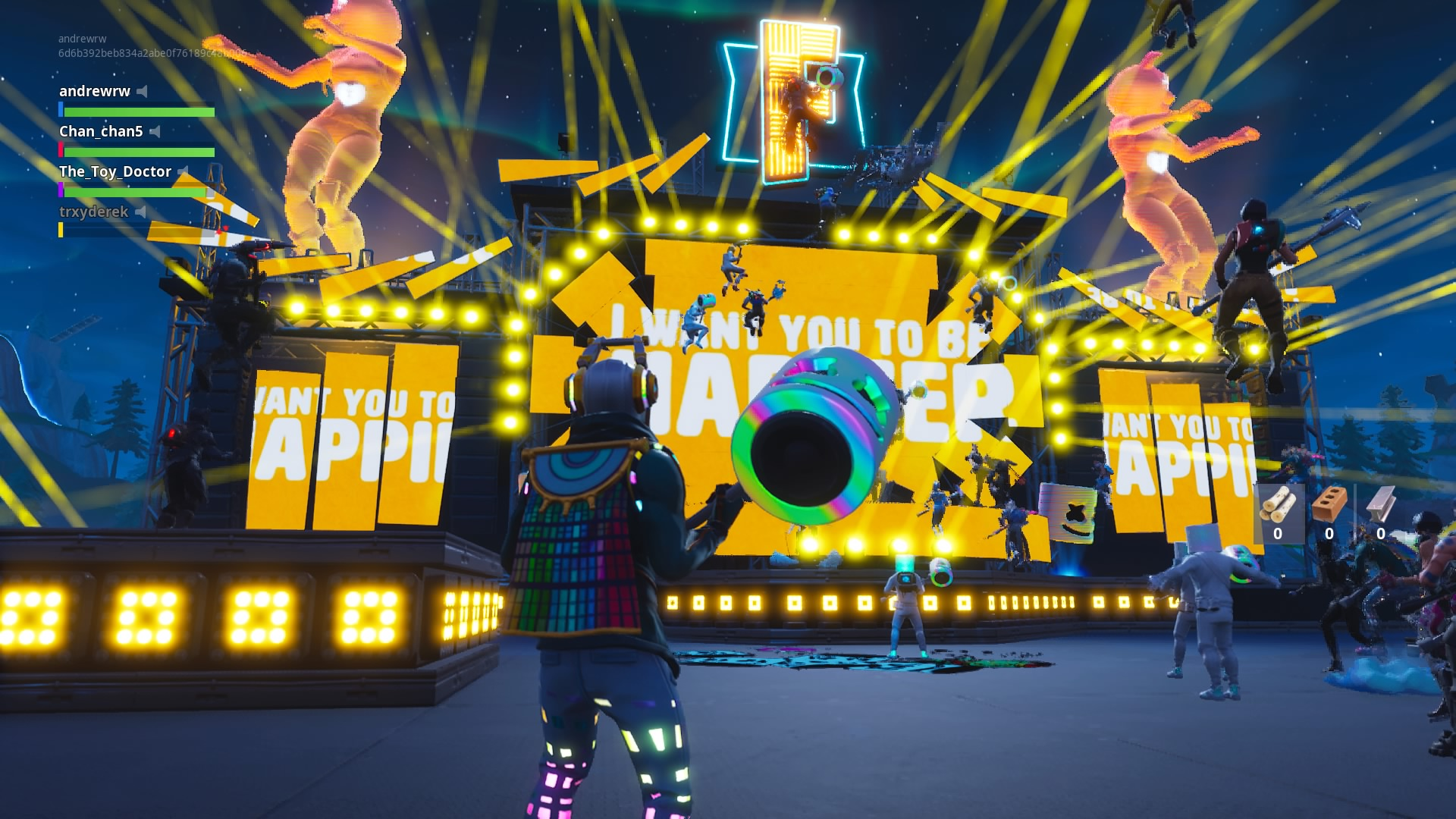 fortnite s marshmello concert was a bizarre and exciting glimpse of the future - how to create your character on fortnite
