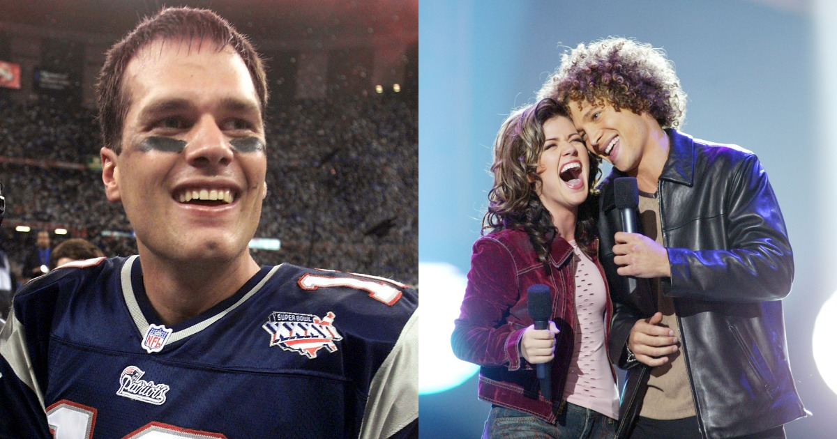 13 things you forgot were popular the first time Tom Brady played the Rams in the Super Bowl
