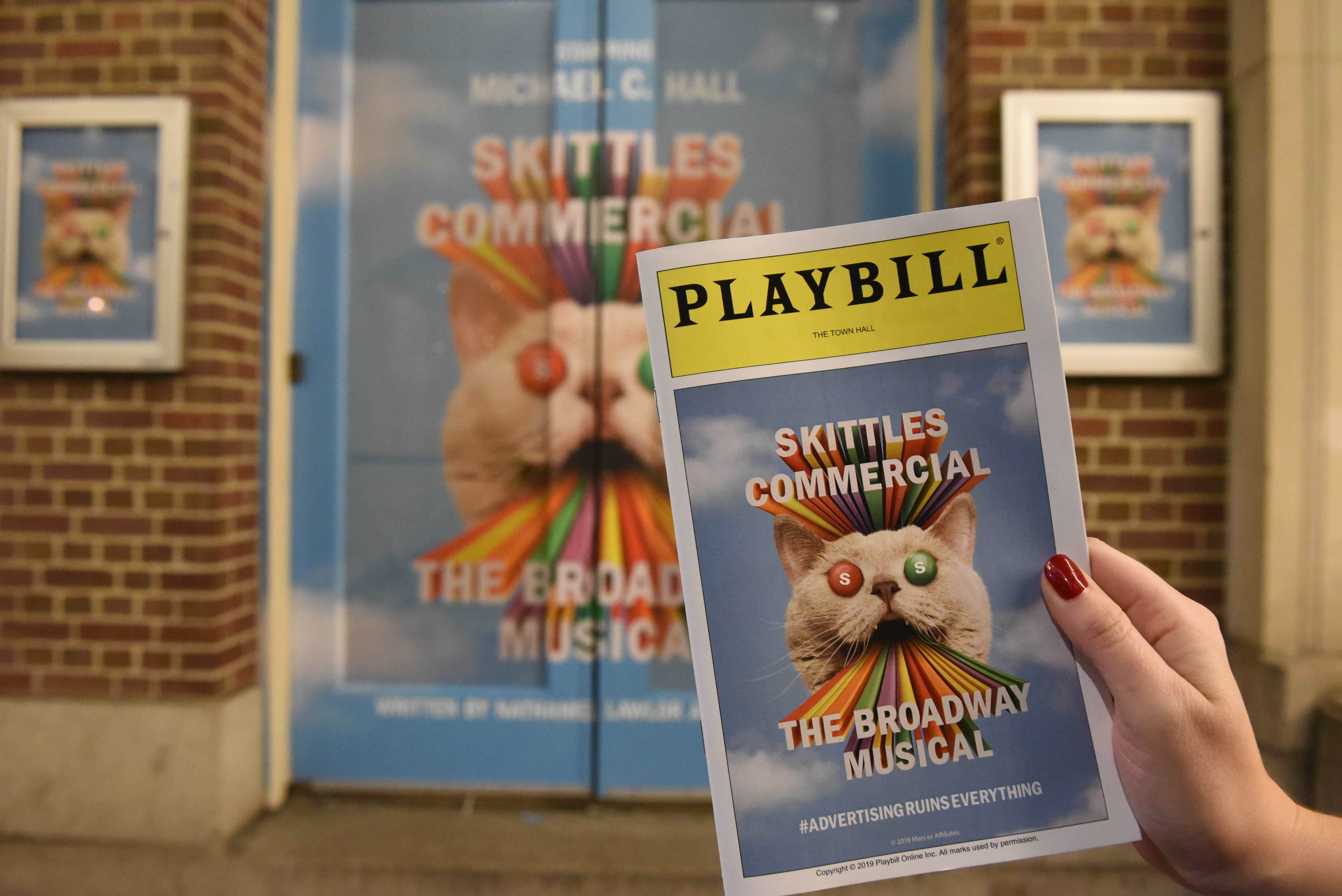 Skittles Commercial: The Broadway Musical is real and we went