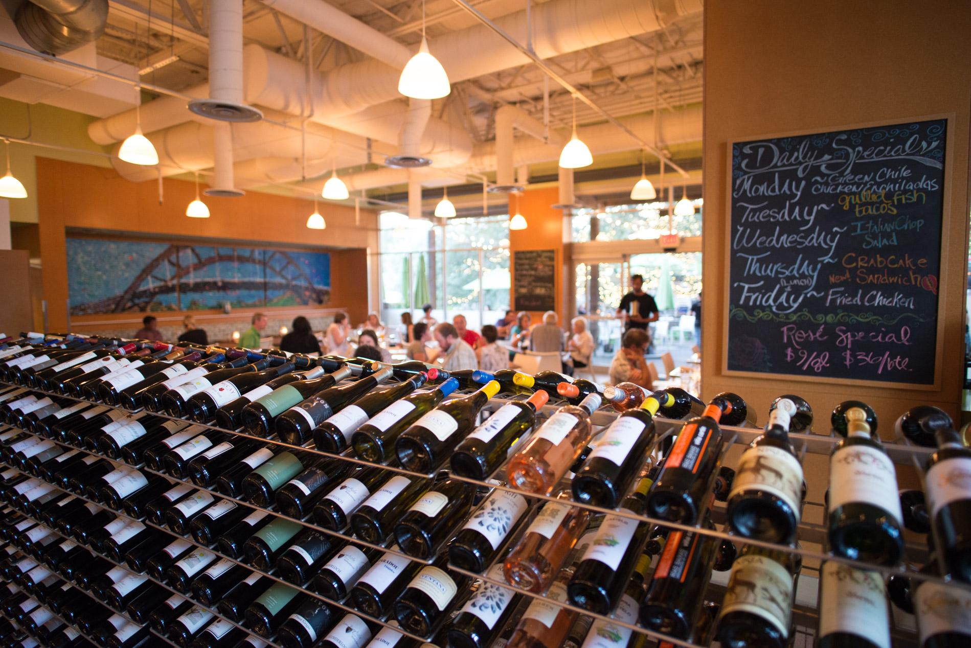 Grove Wine Bar on Bee Cave Road