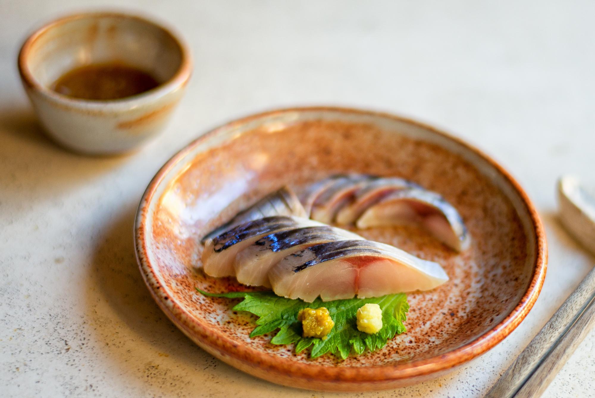A fish plate from Okonomi