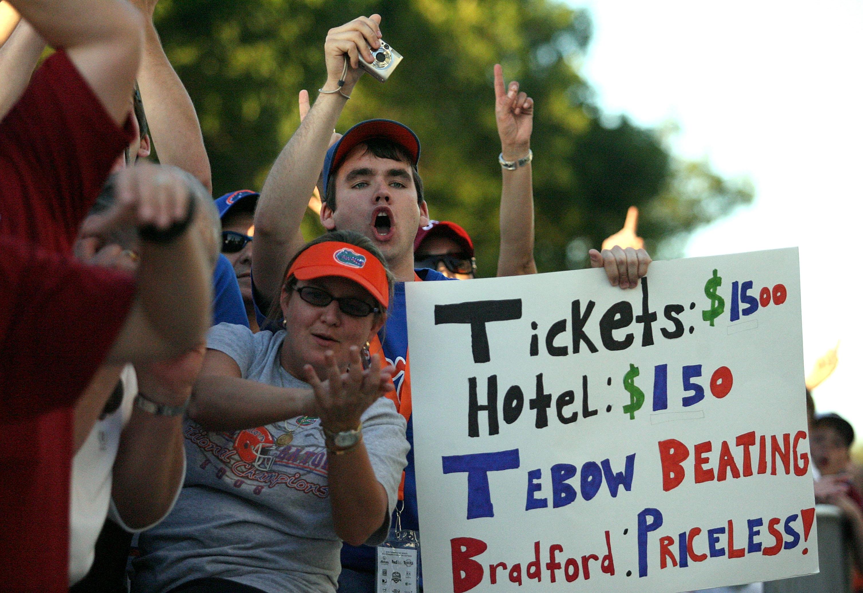 FedEx BCS National Championship Game - Oklahoma v Florida