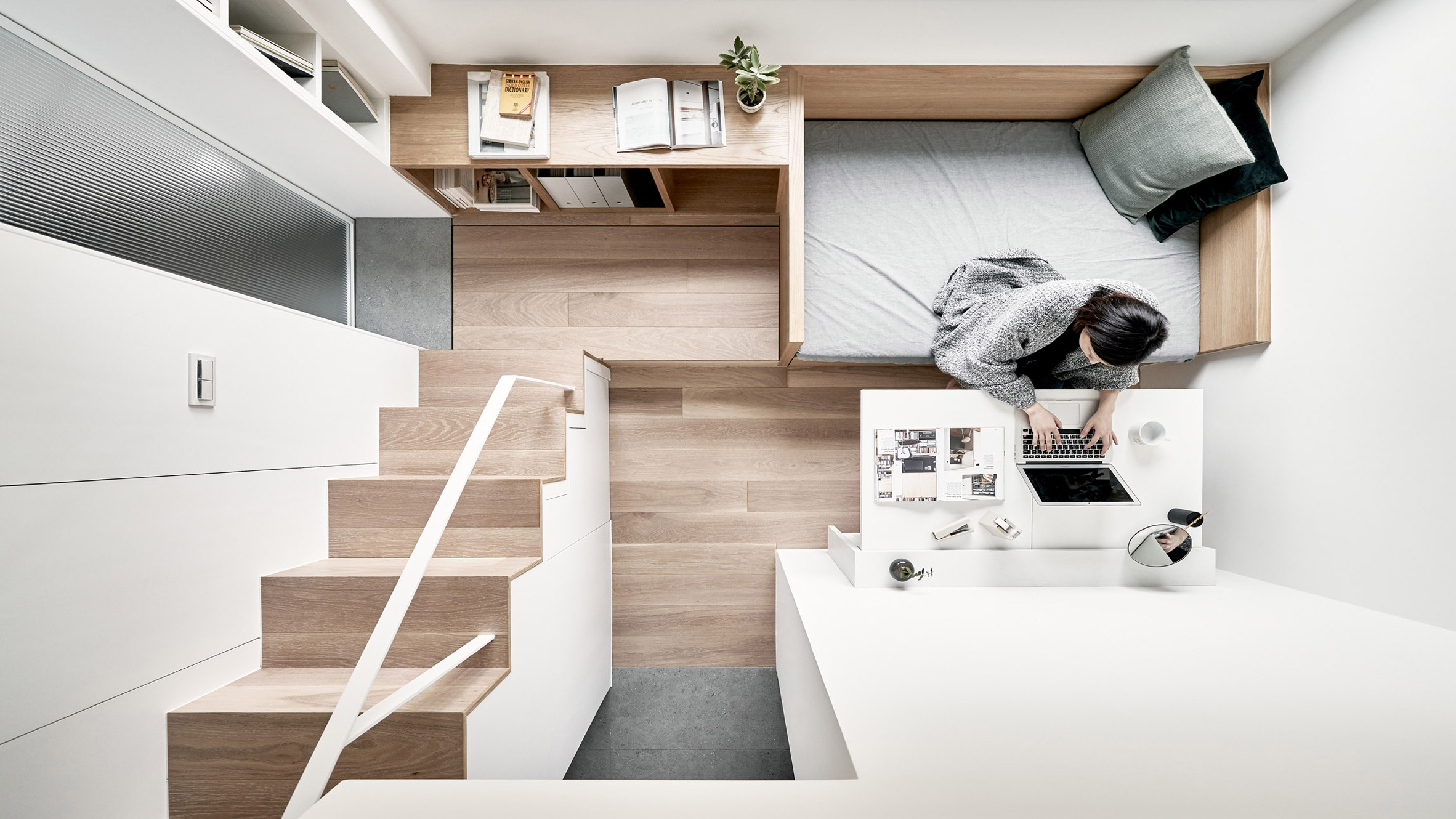 Ingenious 189-square-foot apartment has everything you need