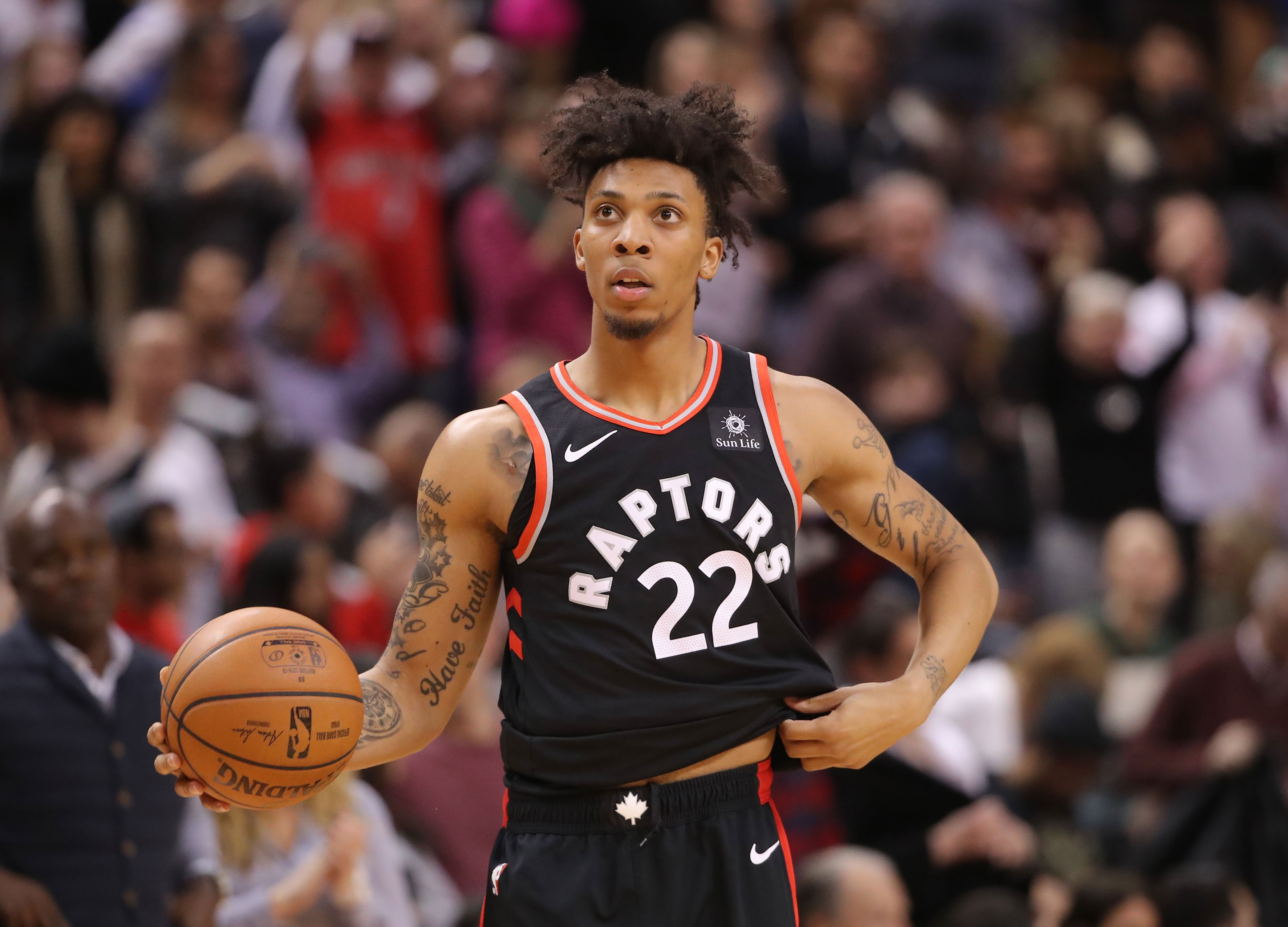 The Sixers Have Acquired Malachi Richardson From Toronto Raptors