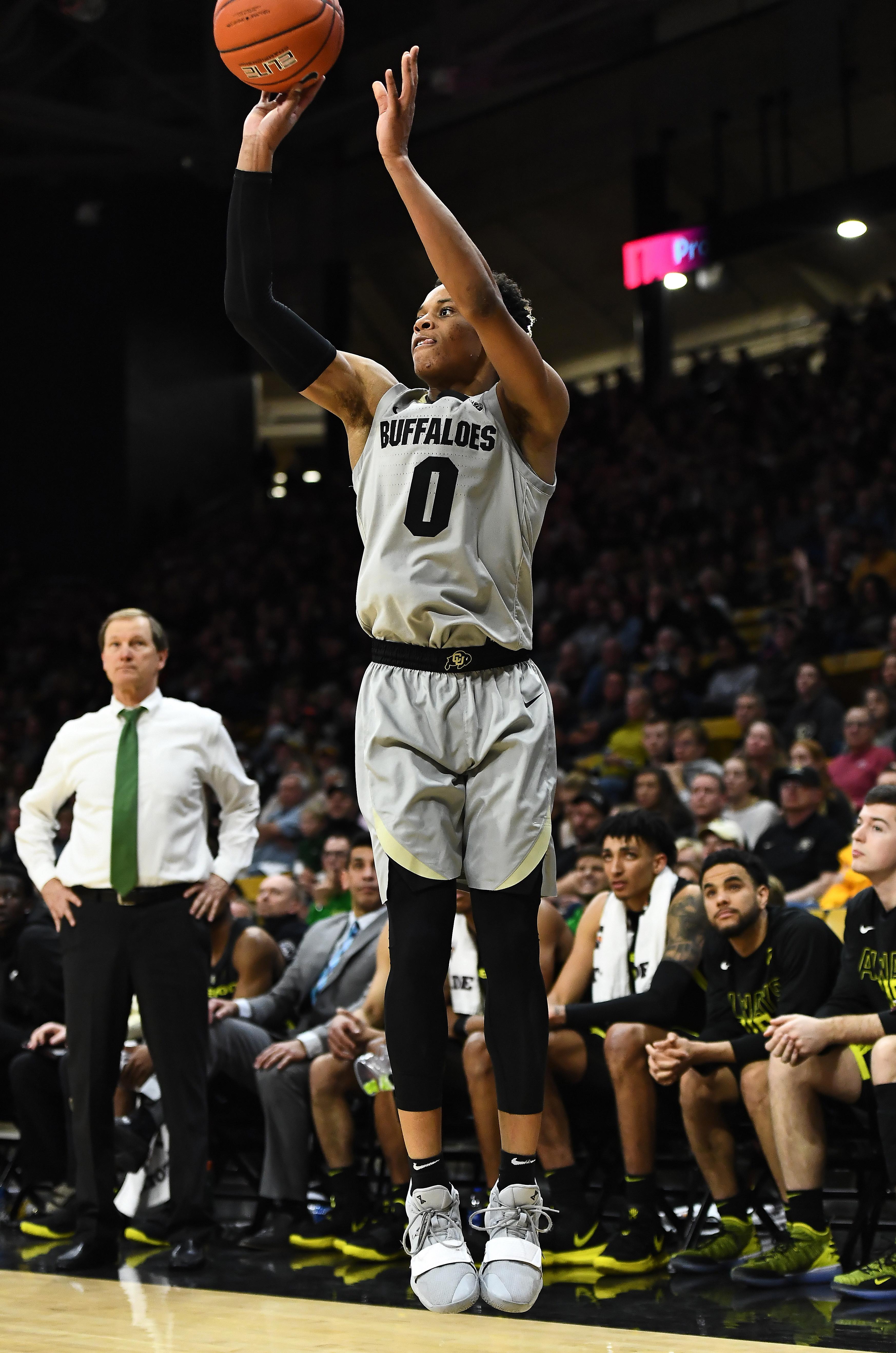 NCAA Basketball: Oregon at Colorado