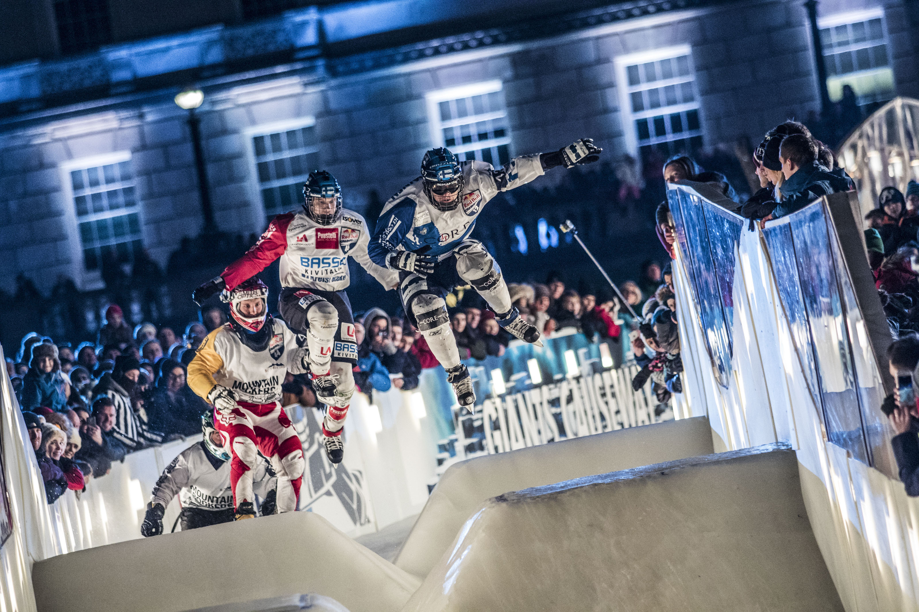Red Bull Crashed Ice 2015 Belfast