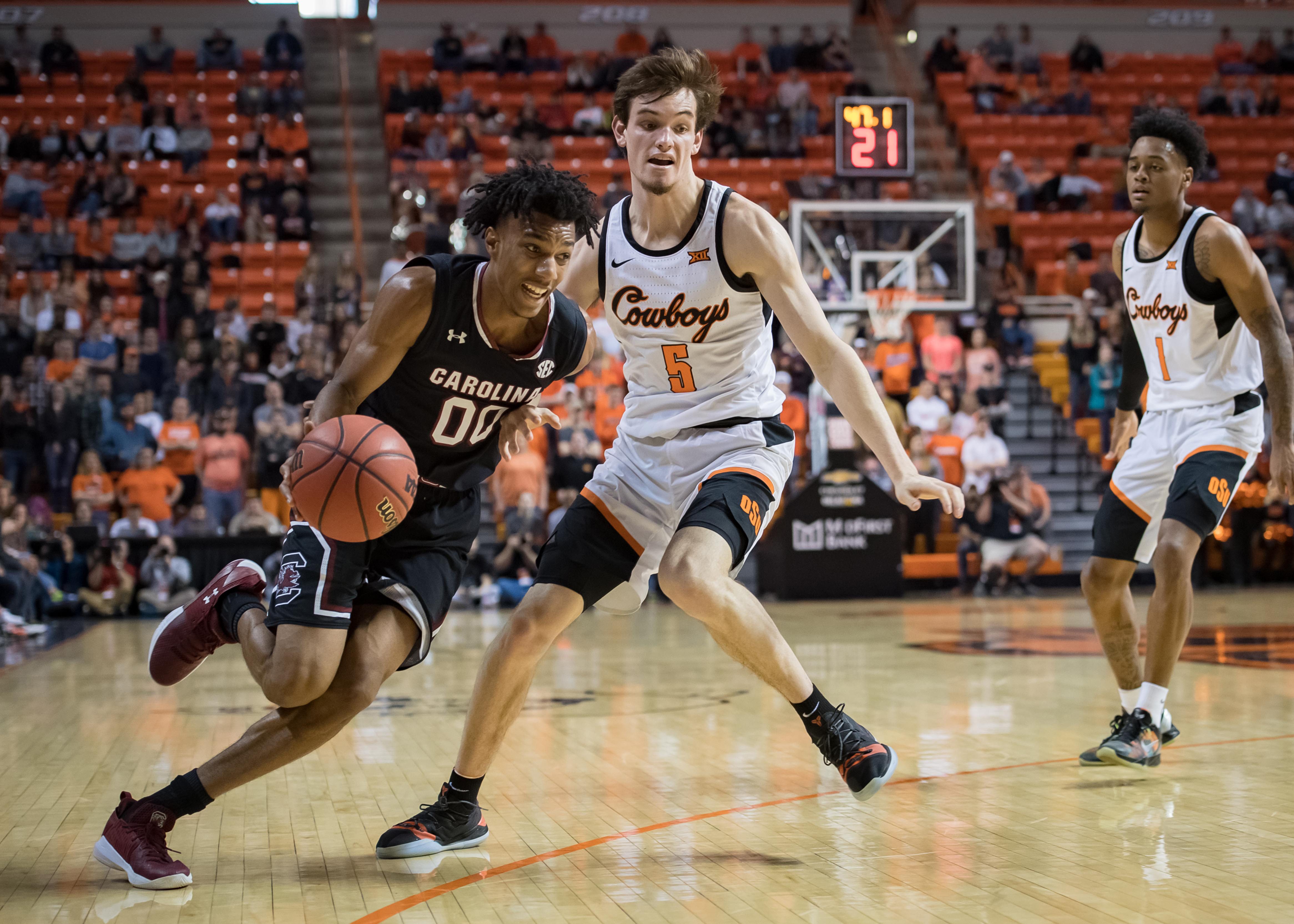 NCAA Basketball: South Carolina at Oklahoma State