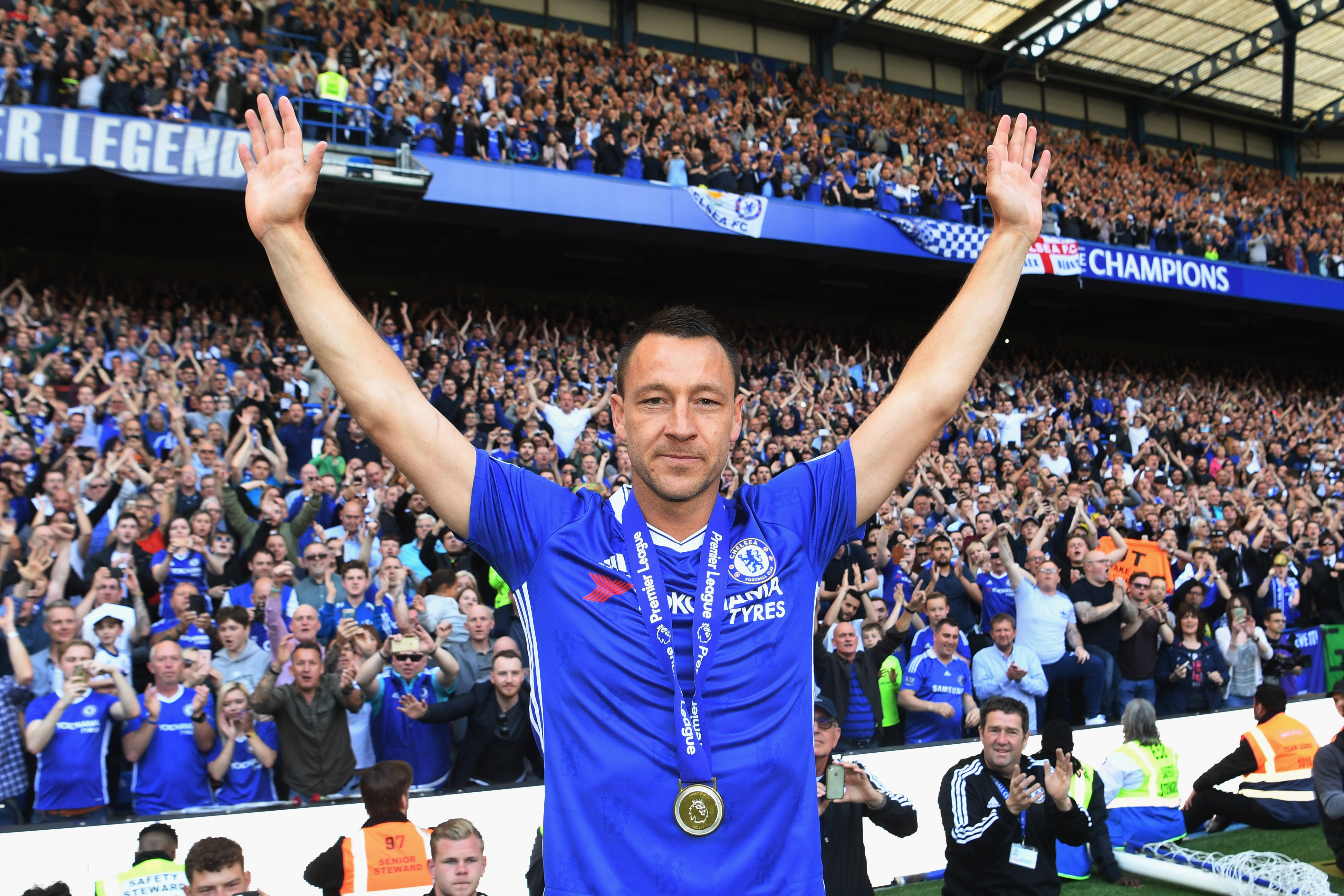 John Terry answers Chelsea fans' questions on Instagram and puts a Spurs fan in his place