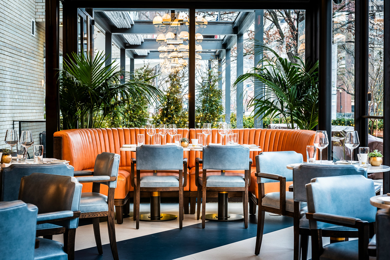 Revamped Dupont Circle Hotel Unveils a Global Restaurant With Moroccan Lamb Shanks