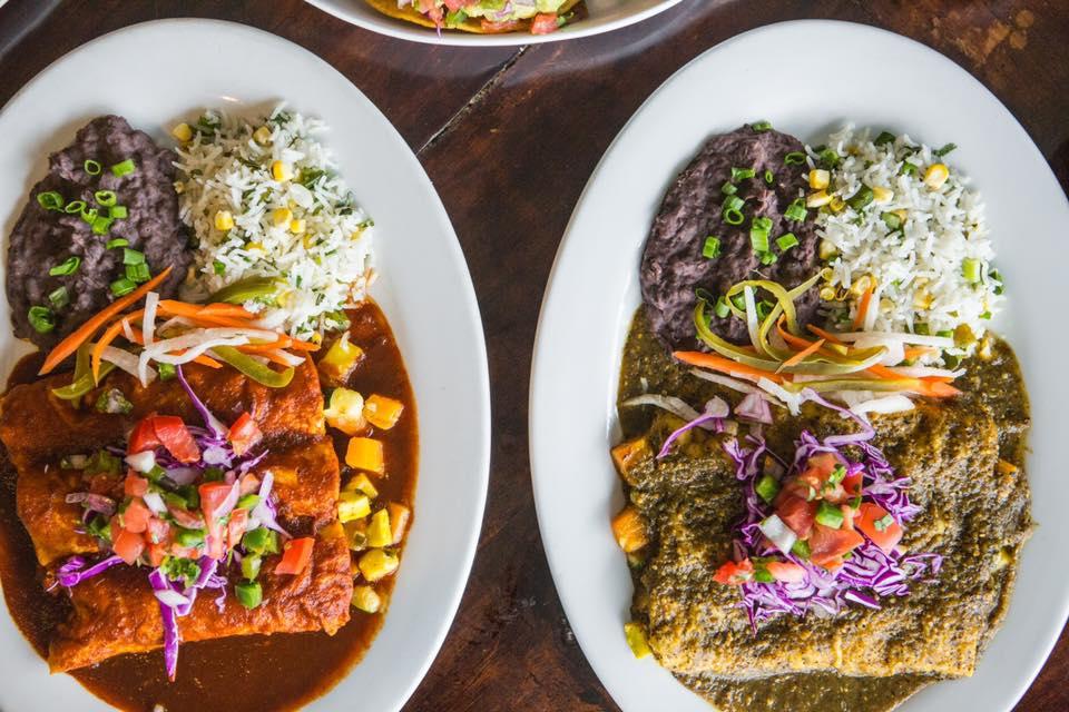 Enchiladas from Eldorado Cafe
