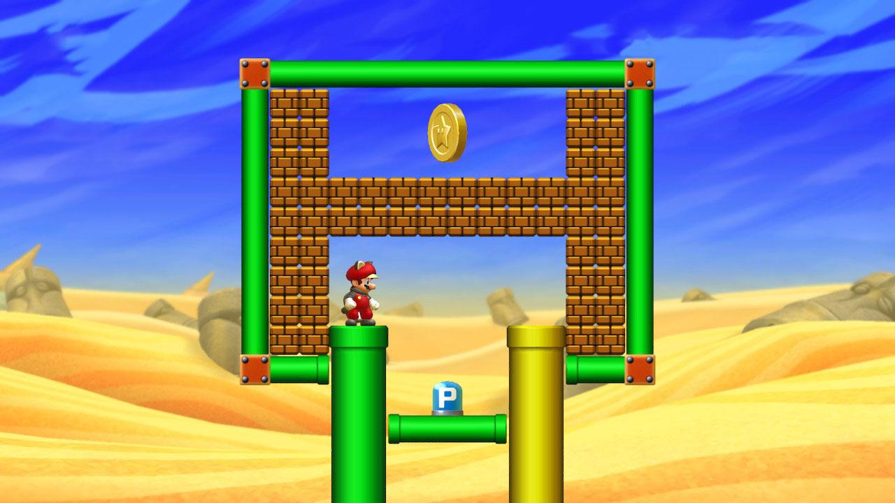 New Super Mario Bros. U Deluxe guide: Layer-Cake Desert Star Coins