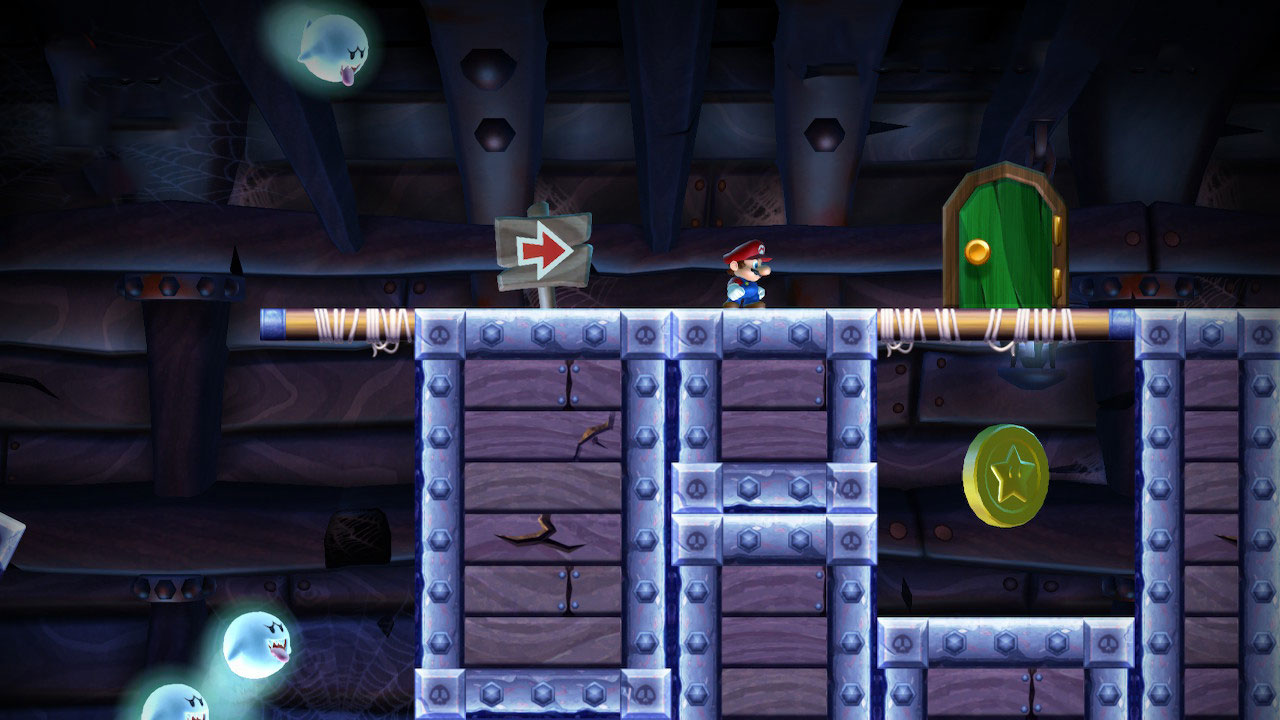 New Super Mario Bros. U Deluxe guide: Sparkling Waters Star Coins