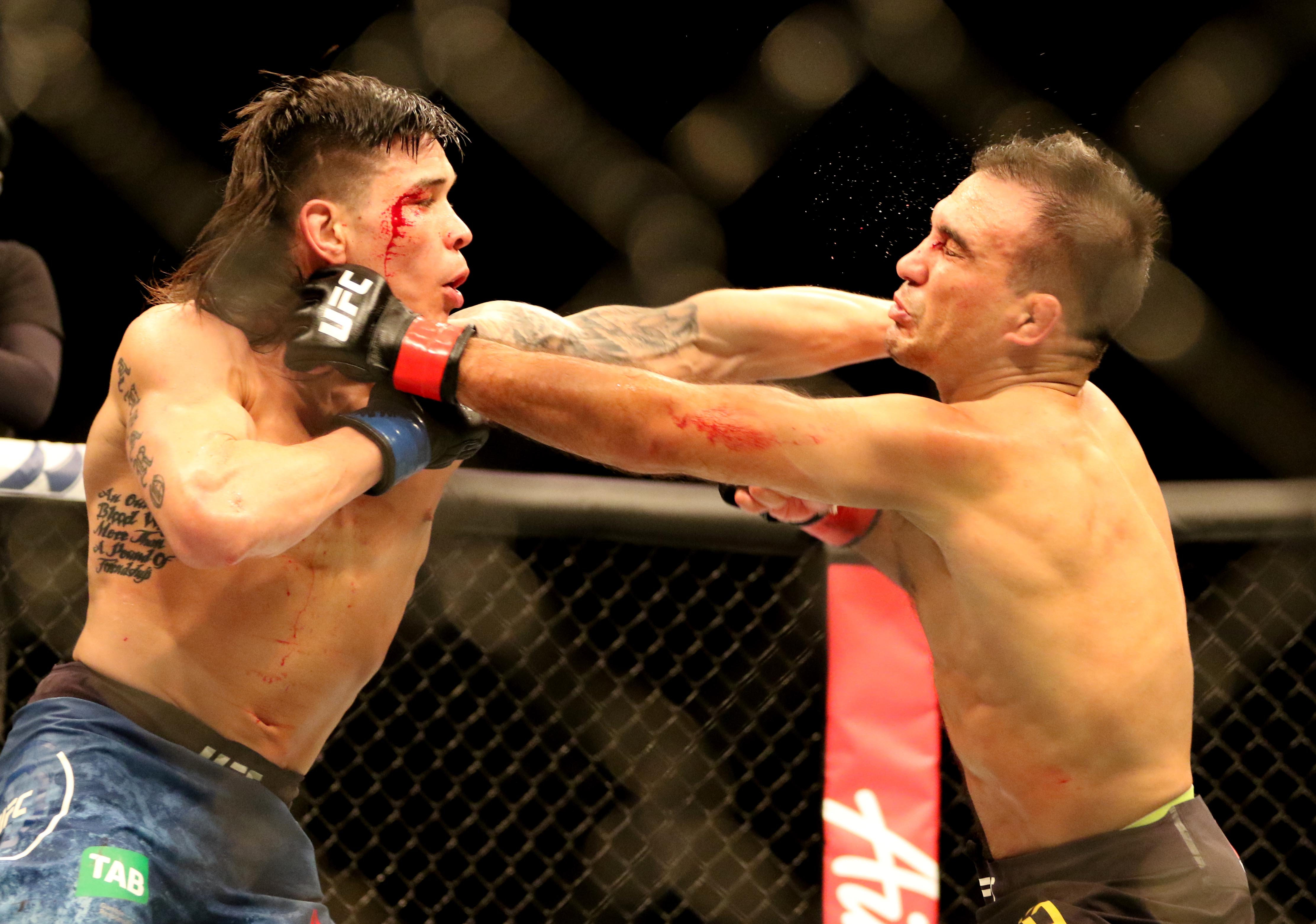 MMA: UFC 234-Yahya vs Simon