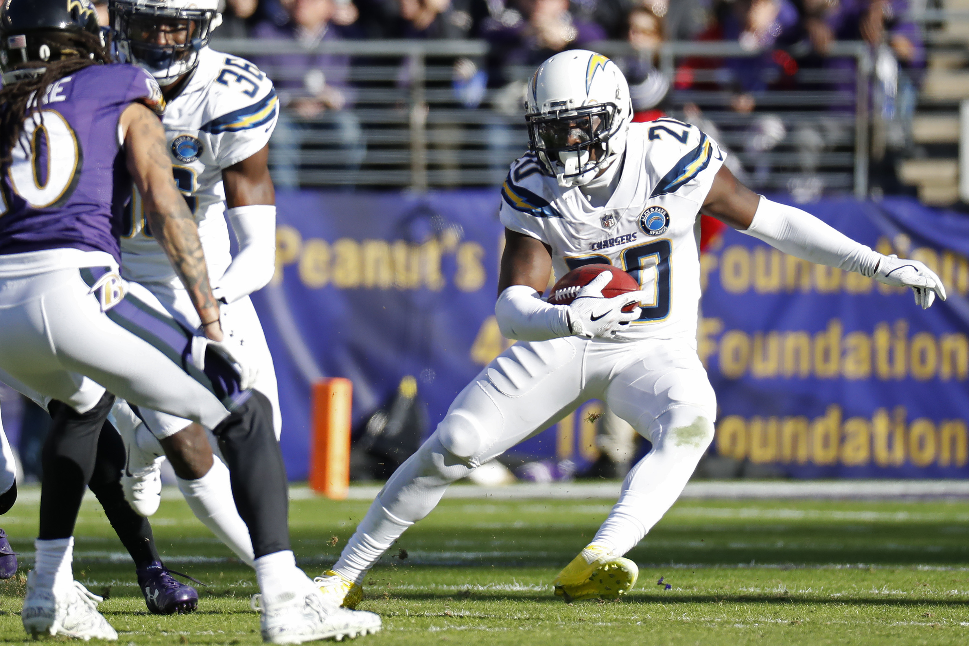 NFL: AFC Wild Card-Los Angeles Chargers at Baltimore Ravens
