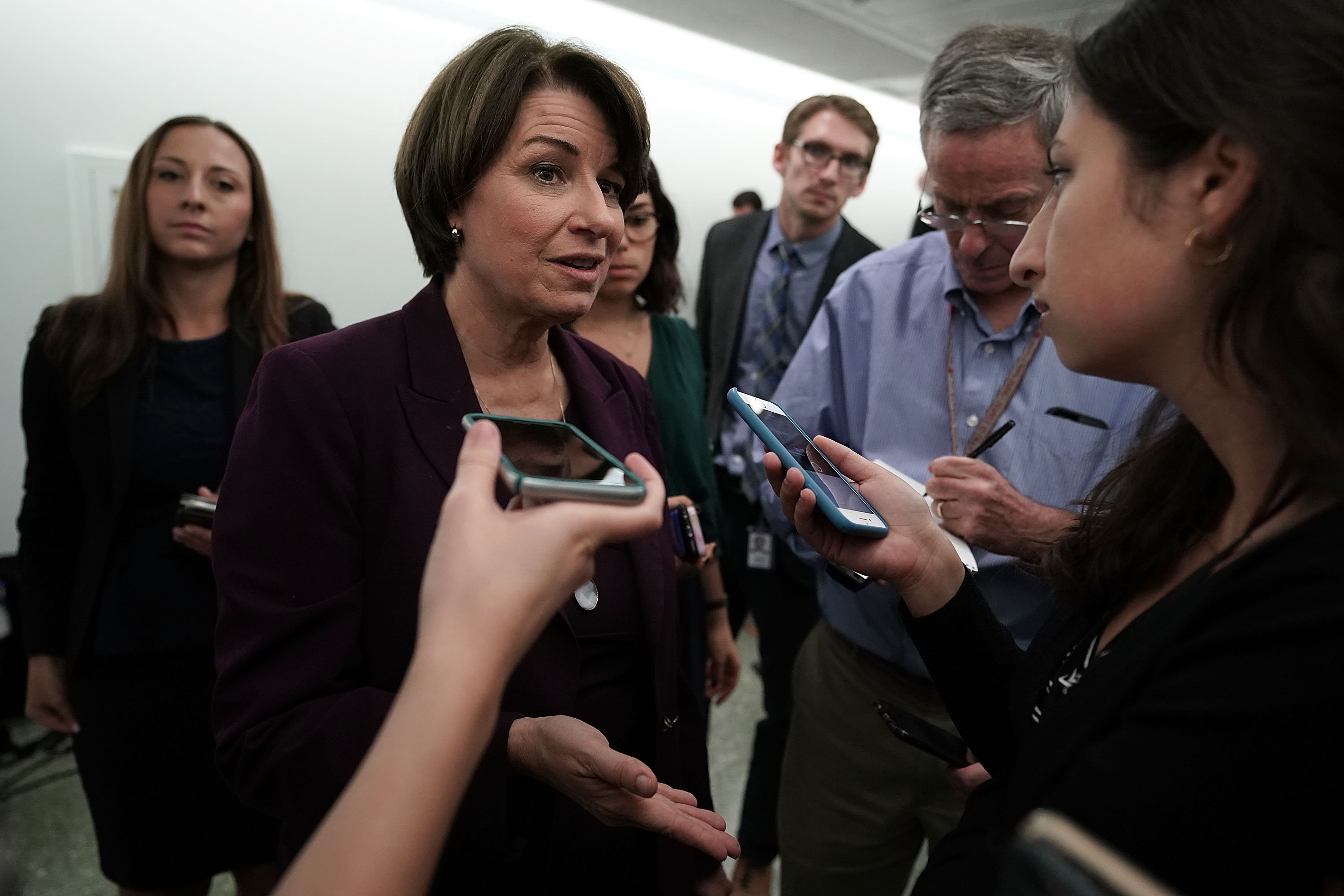 Sen. Amy Klobuchar has won every one of her elections by huge margins. Now she's running for president.