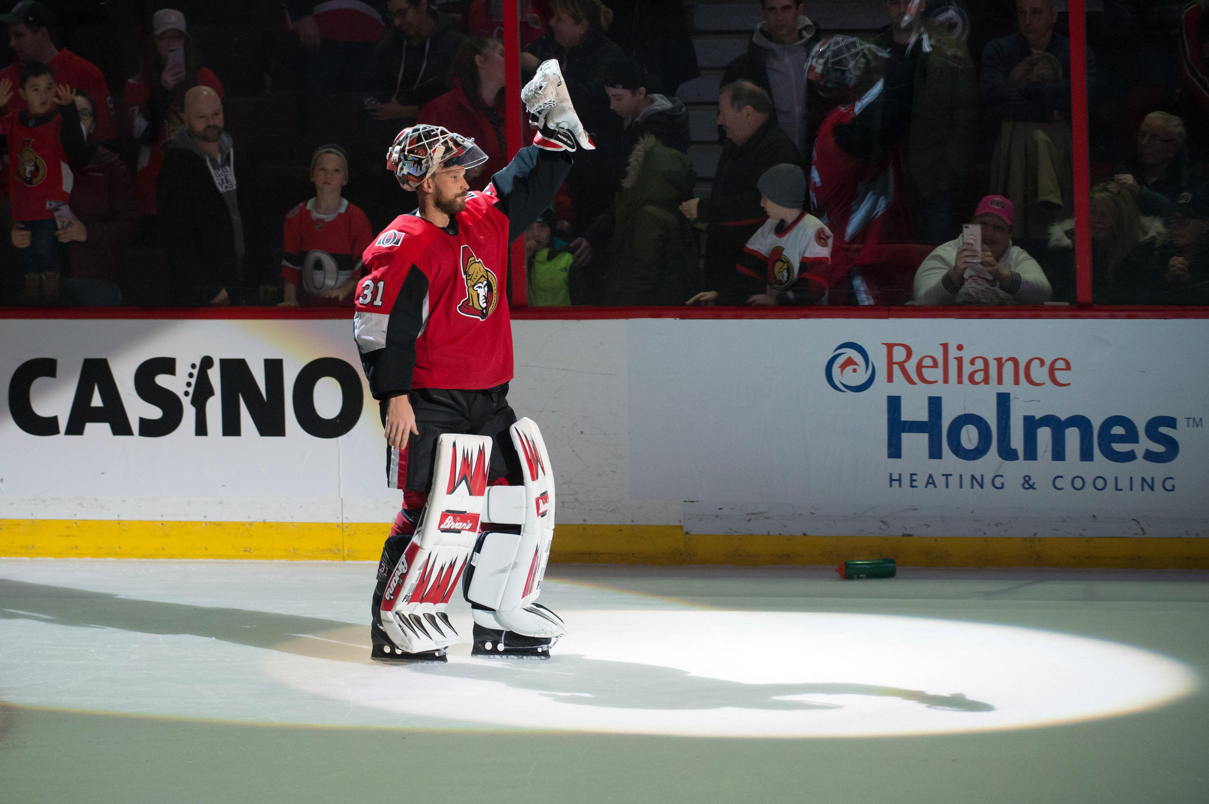 NHL: Winnipeg Jets at Ottawa Senators