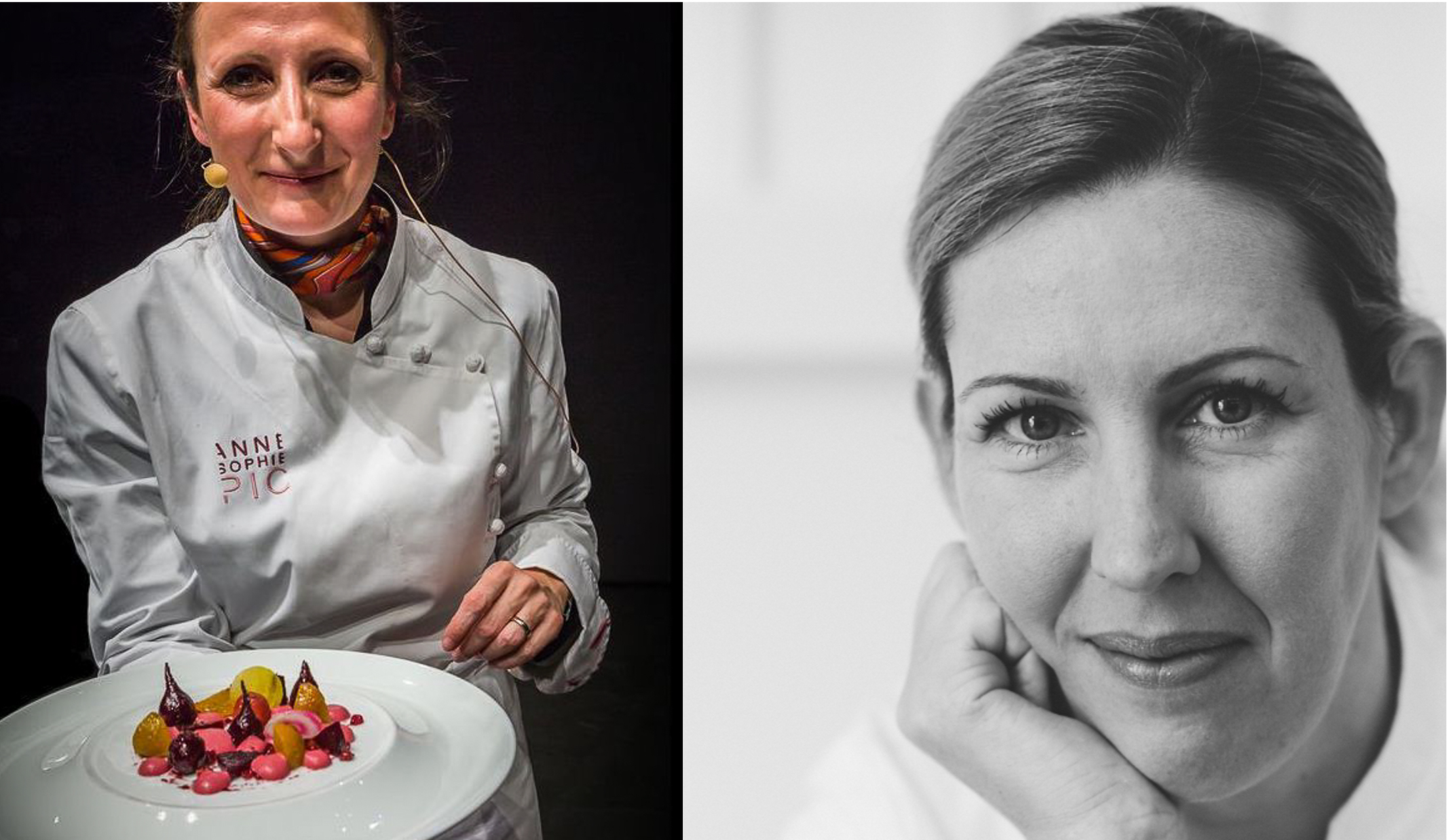 Michelin-starred restaurant chefs Clare Smyth of Core and Anne Sophie Pic of Le Dame de Pic will collaborate for an International Women's Day dinner