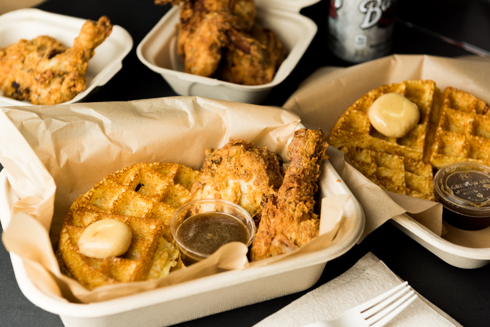 Brown Sugar Kitchen Opens for Chicken and Waffles in the Ferry Building
