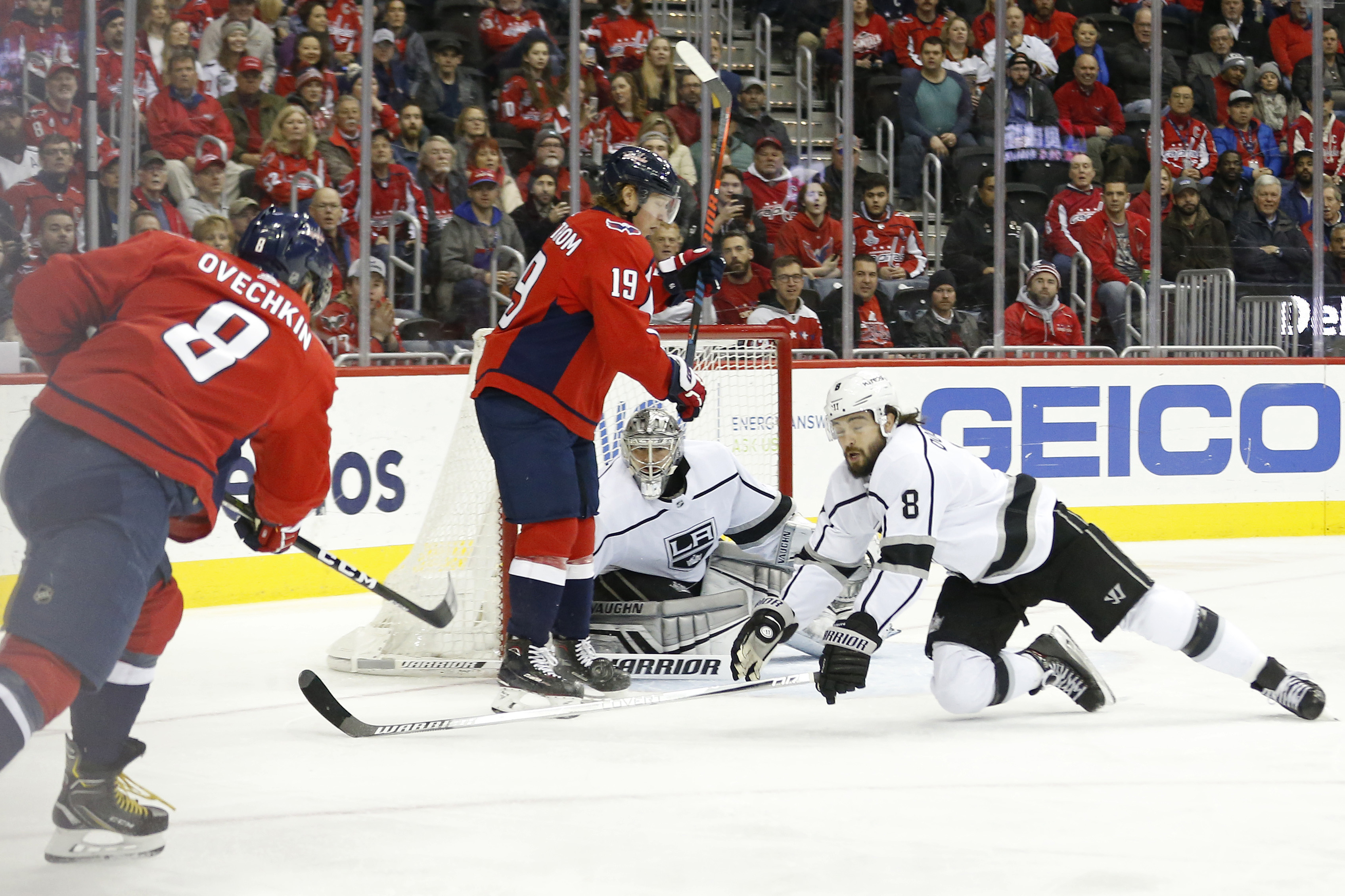 Capitals vs. Kings Recap  Washington Scores Three 2nd Period Goals ... 03471ee0f7b