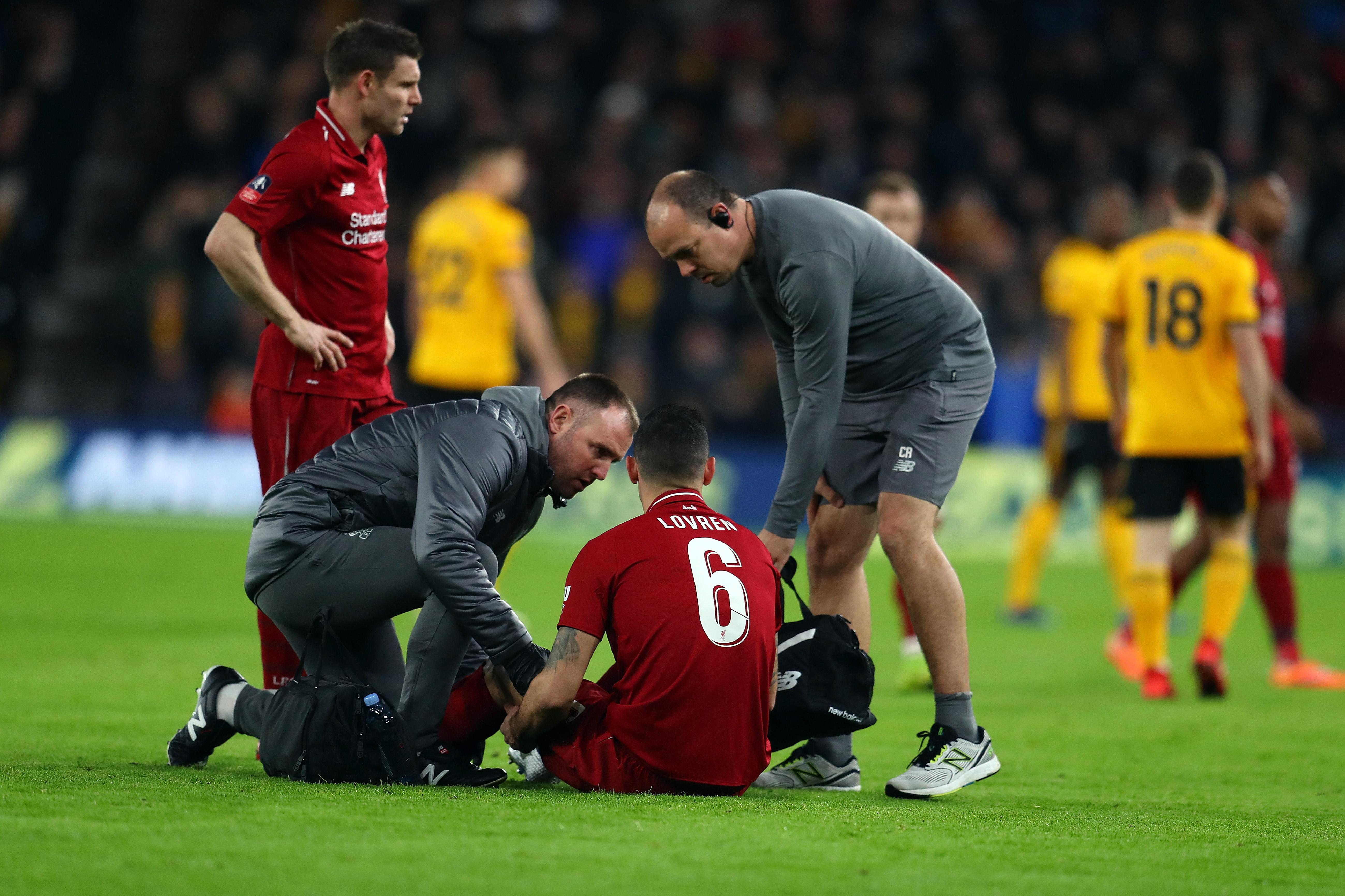 Dejan Lovren Likely to Miss Bayern Munich Clash Due to Injury