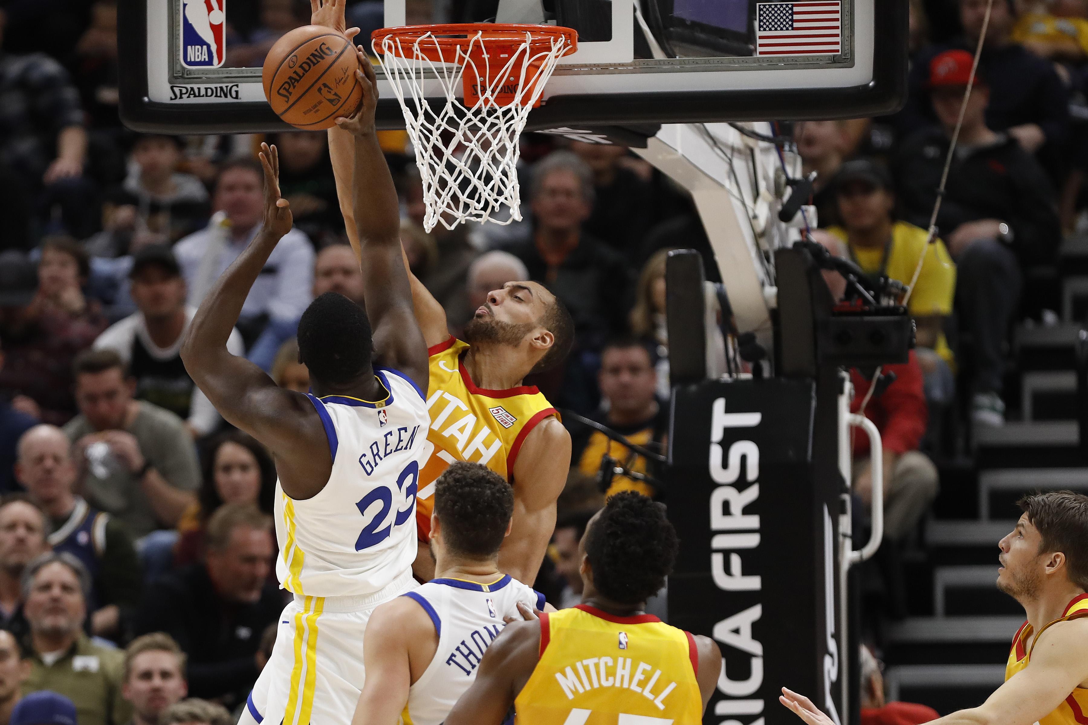NBA: Golden State Warriors at Utah Jazz