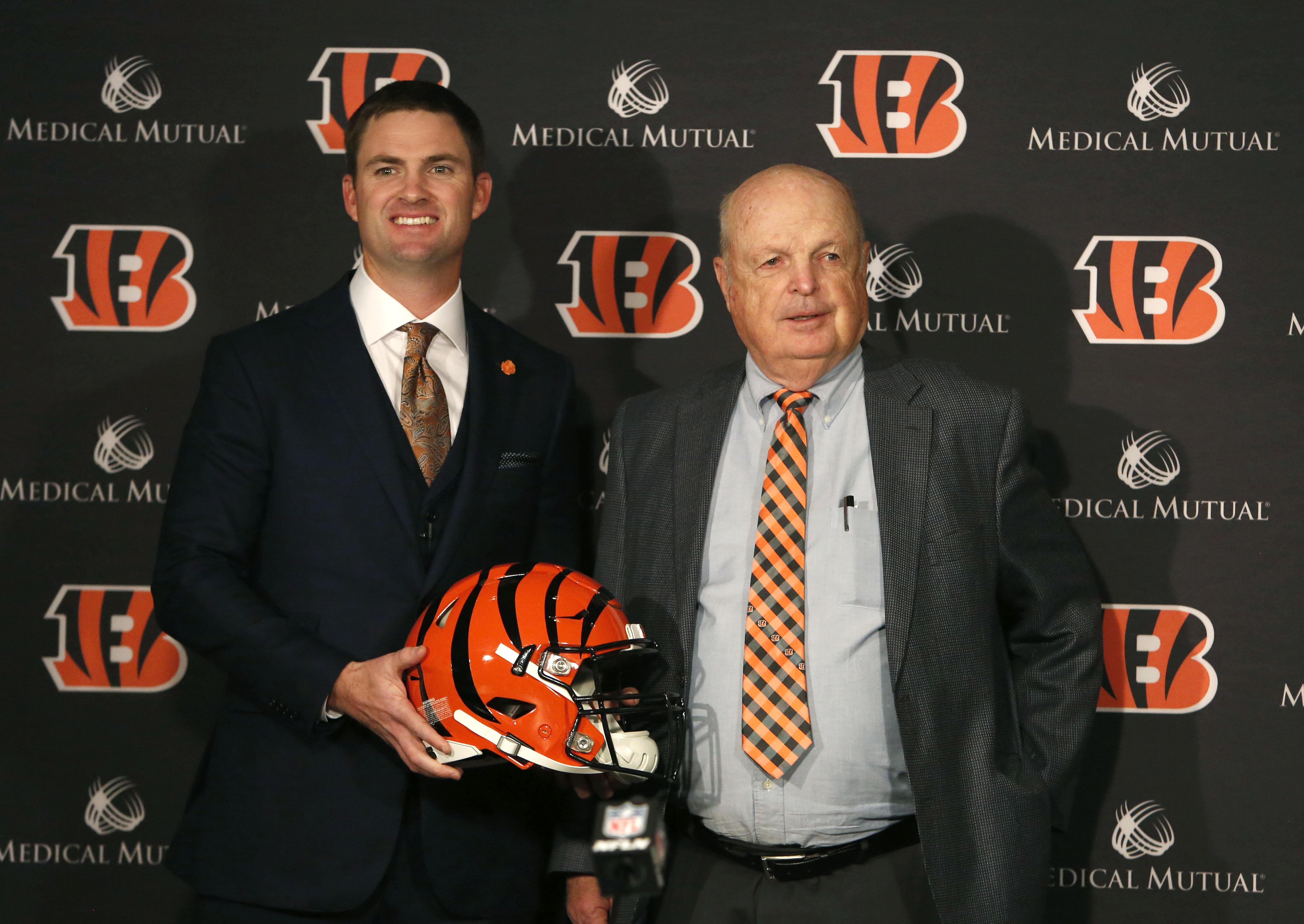 NFL: Cincinnati Bengals-Press Conference