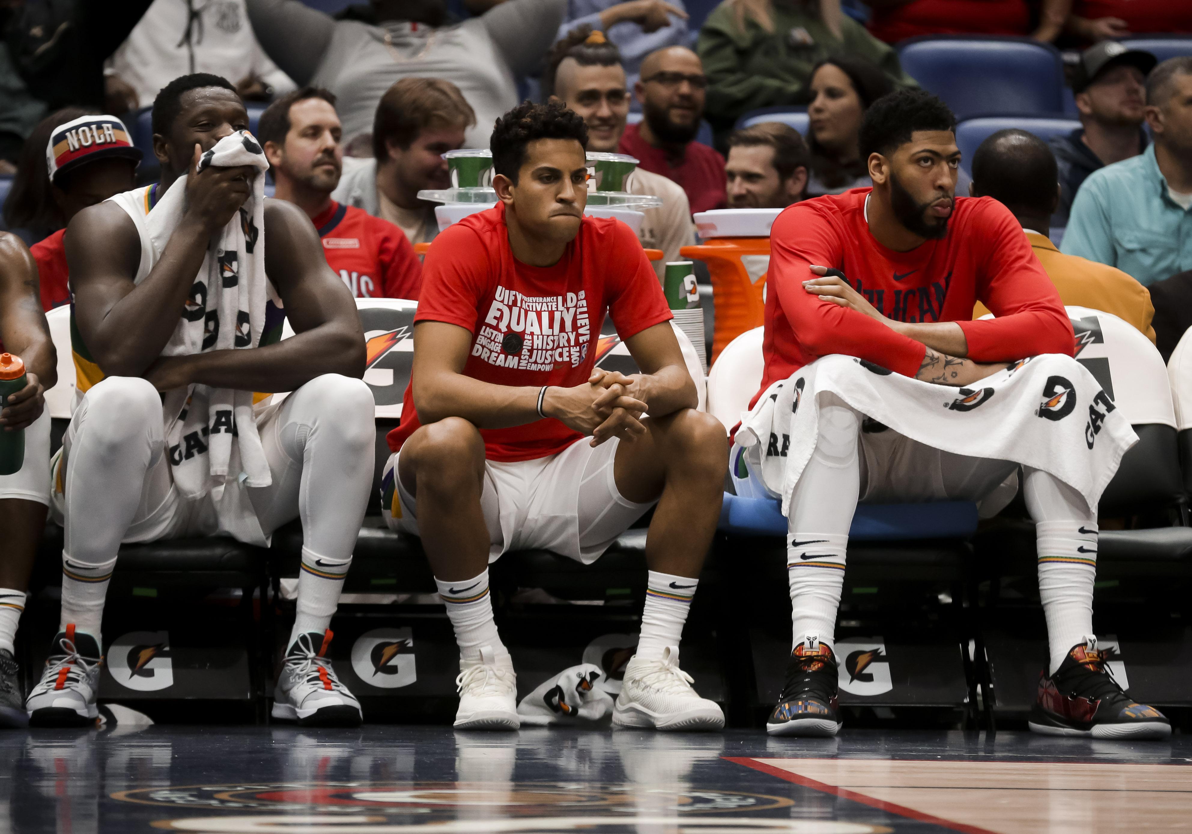 NBA: Orlando Magic at New Orleans Pelicans