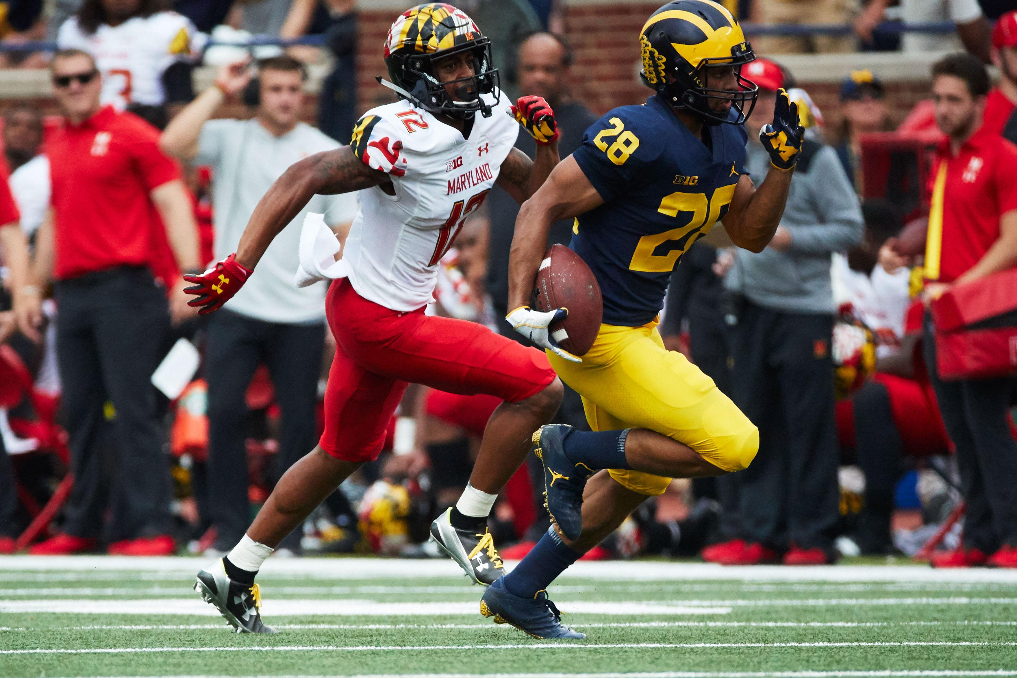 NCAA Football: Maryland at Michigan