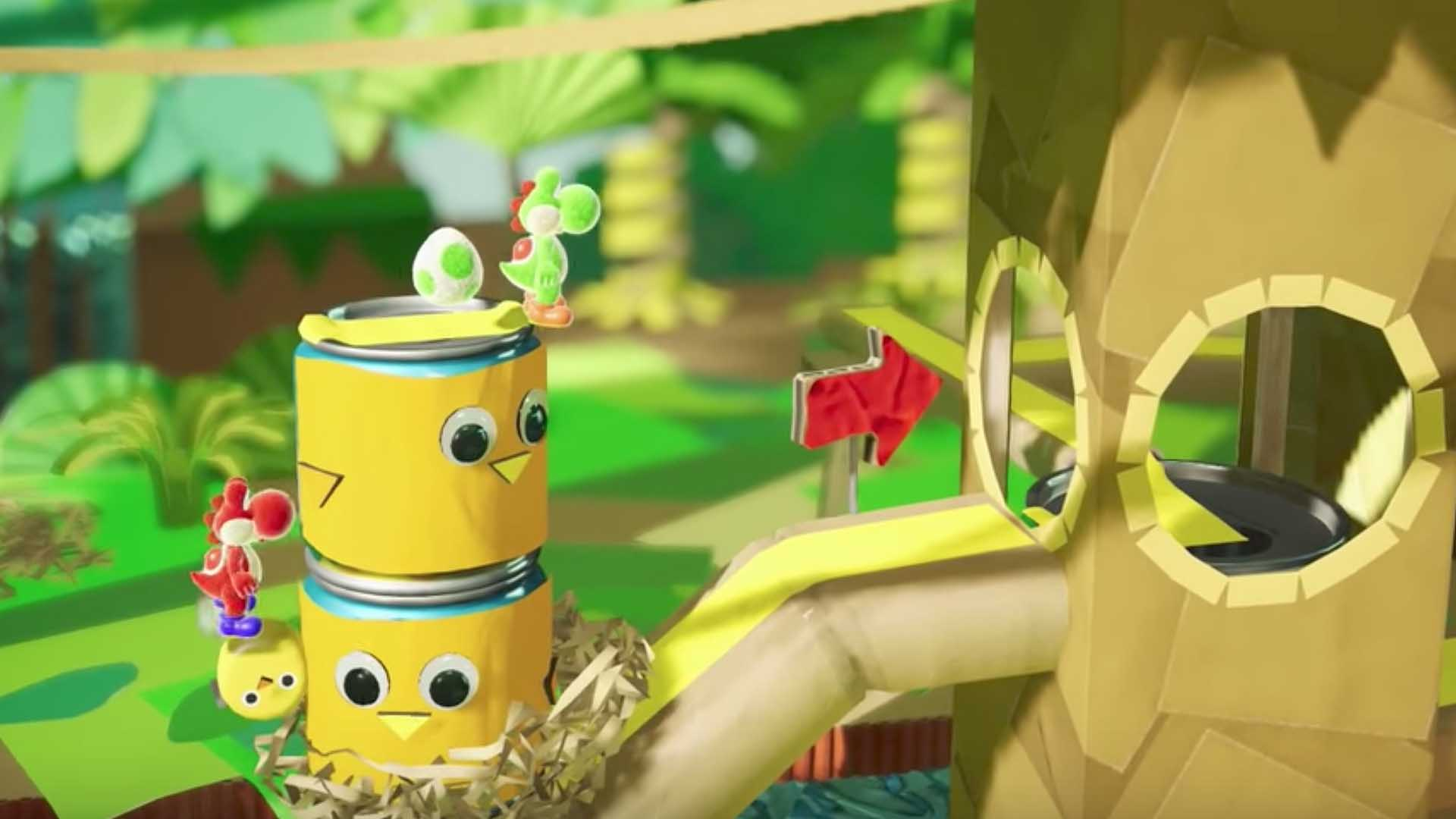 Yoshi's Crafted World gets demo ahead of launch